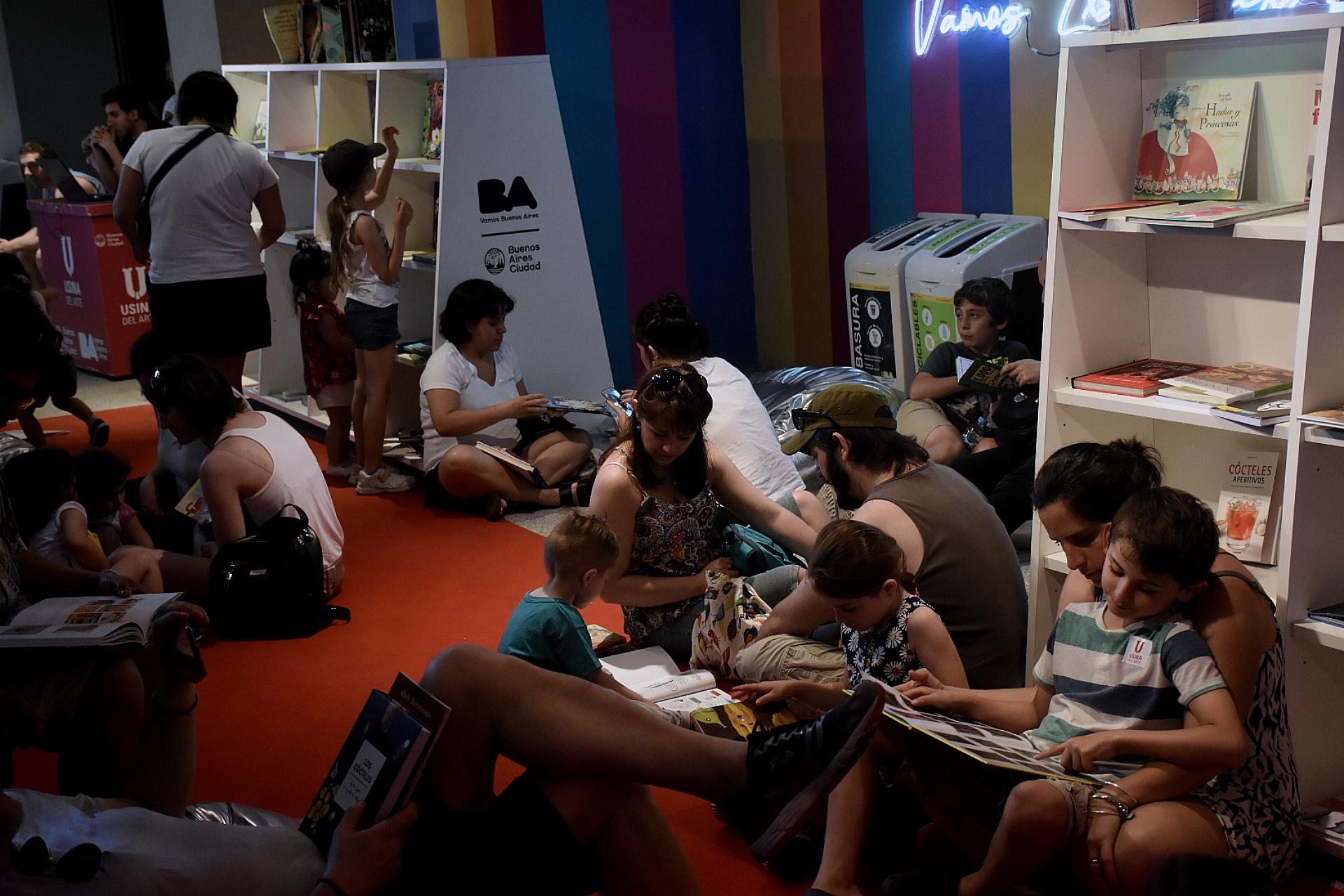 En la Usina del Arte se pensó un espacio exclusivo para los más chicos, con clases de dulces de cuchara para niños, de tiramisú