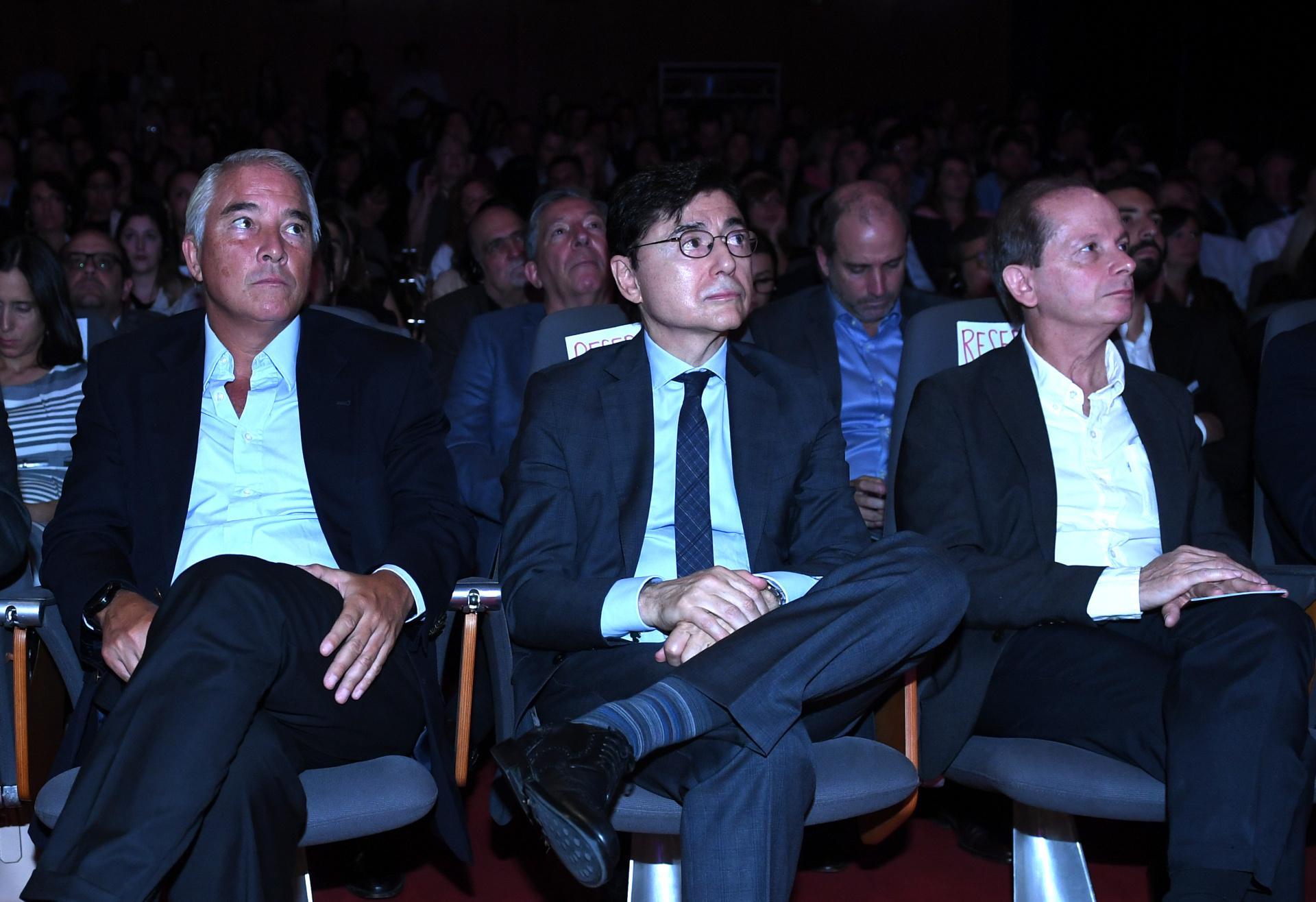 Pablo Deluca, director de Asuntos Institucionales de Infobae y Jorge Fontevecchia, CEO de Perfil