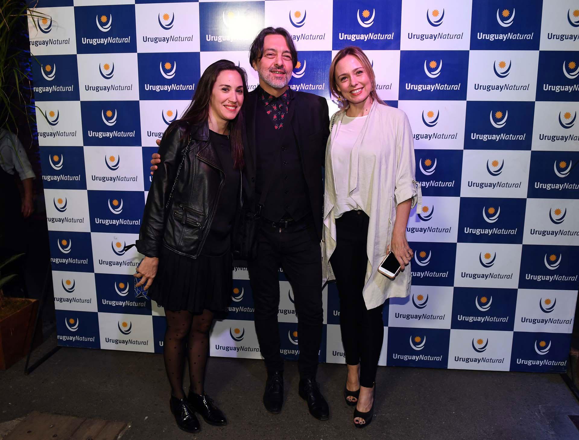 Malena Solda, Esteban Prol y Betina O'Connell