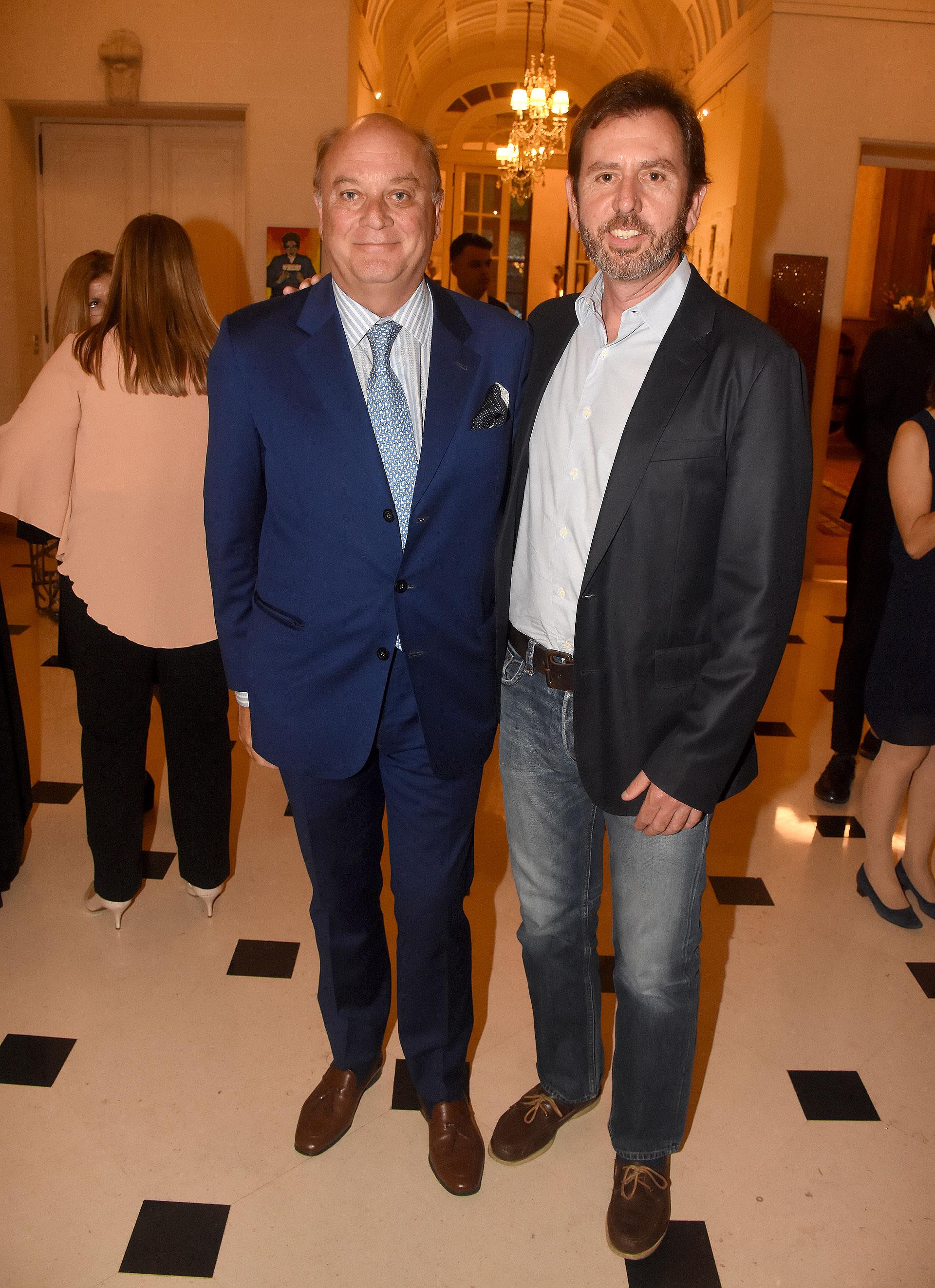 Martín Cabrales y Diego Pando