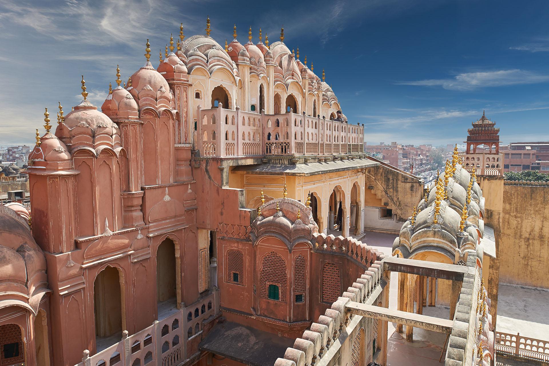 Esta edificación era la sede del Maharaja de Jaipur, el jefe del clan Kachwaha Rajput