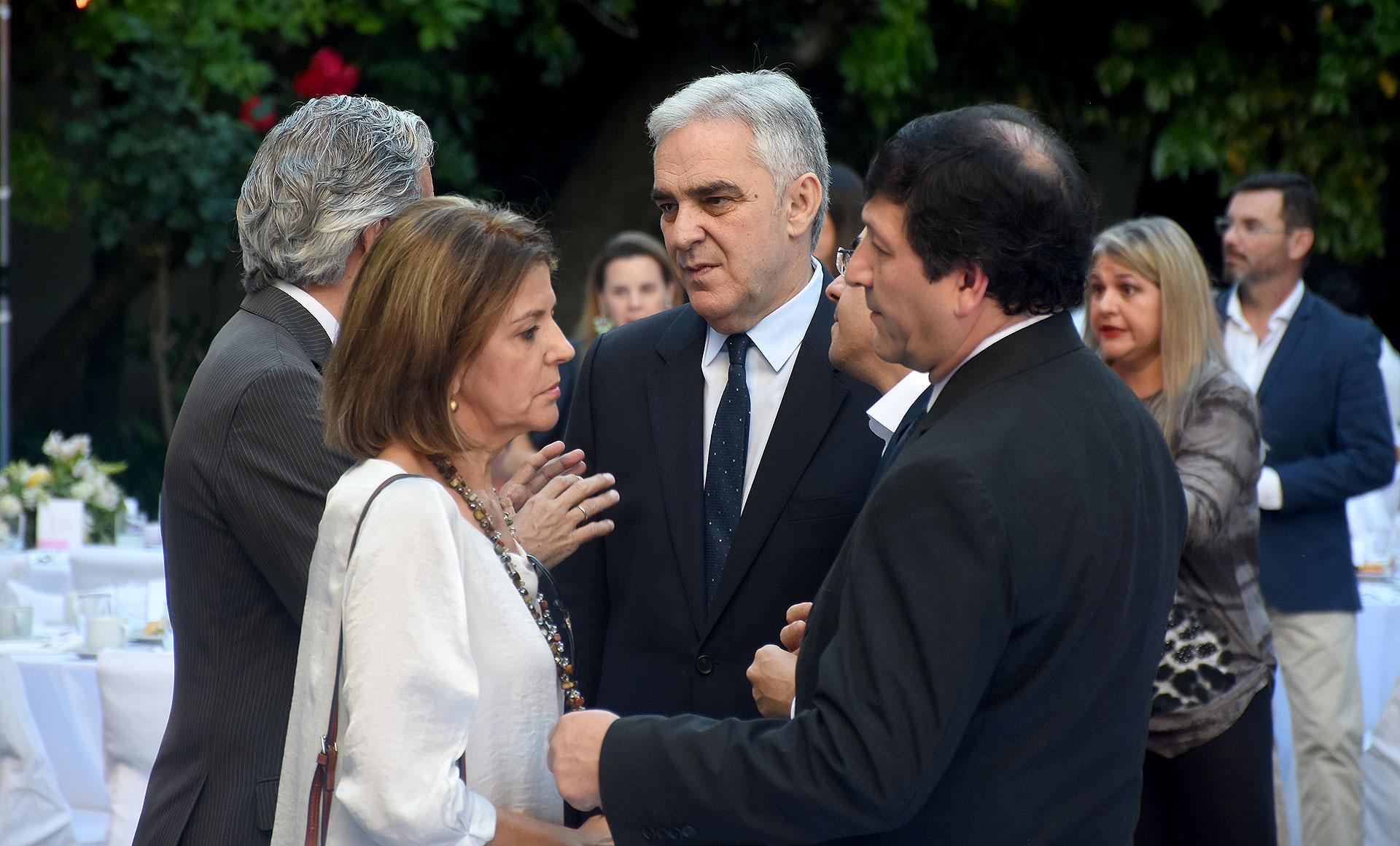 El embajador de España en la Argentina, Francisco Javier Sandomingo Núñez