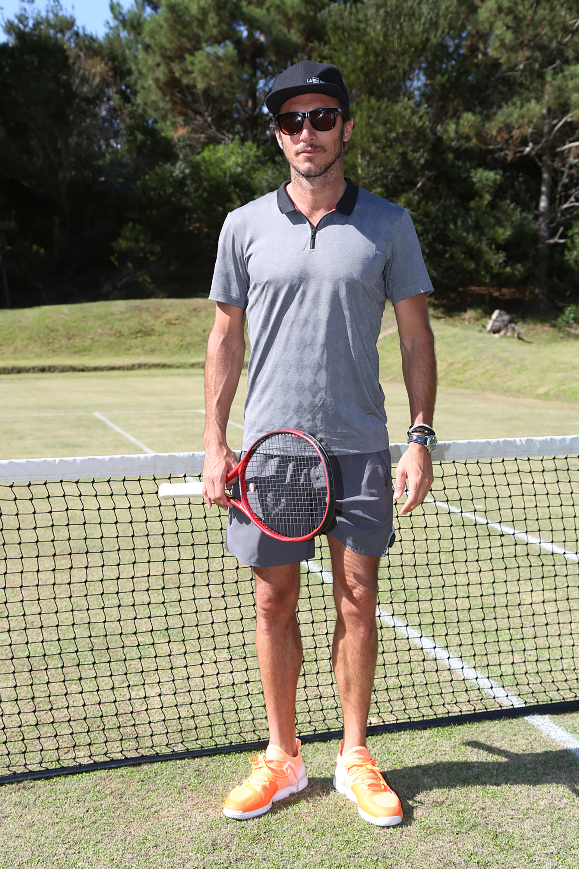 Pico Mónaco listo para jugar el torneo de tenis Pro Am en Las Cárcavas