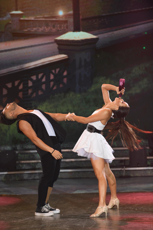 Flor Vigna y Facu Mazzei en el ritmo Jive (Foto: Negro Luengo / LaFlia)