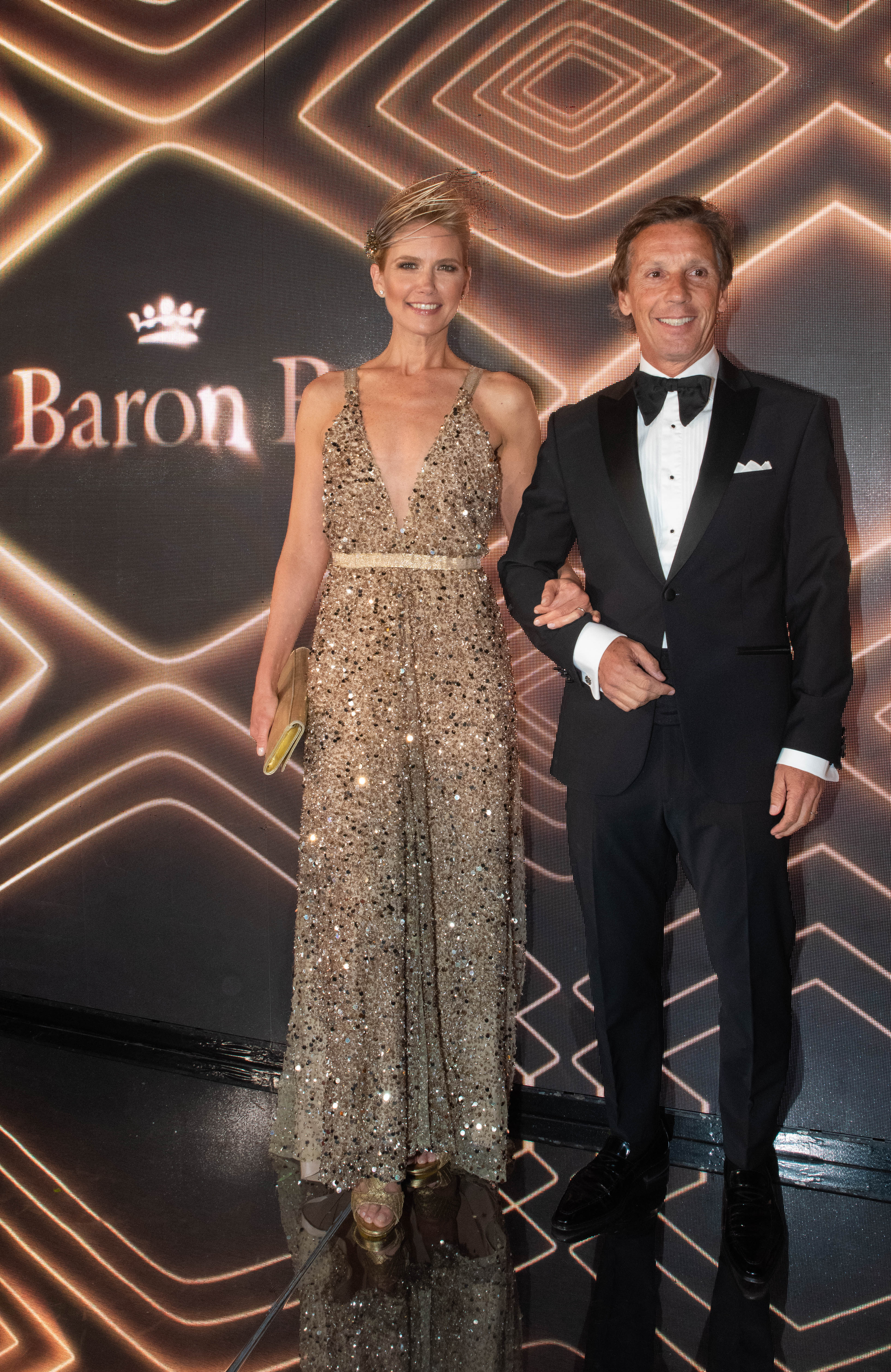 Valeria Mazza y su marido, Alejandro Gravier