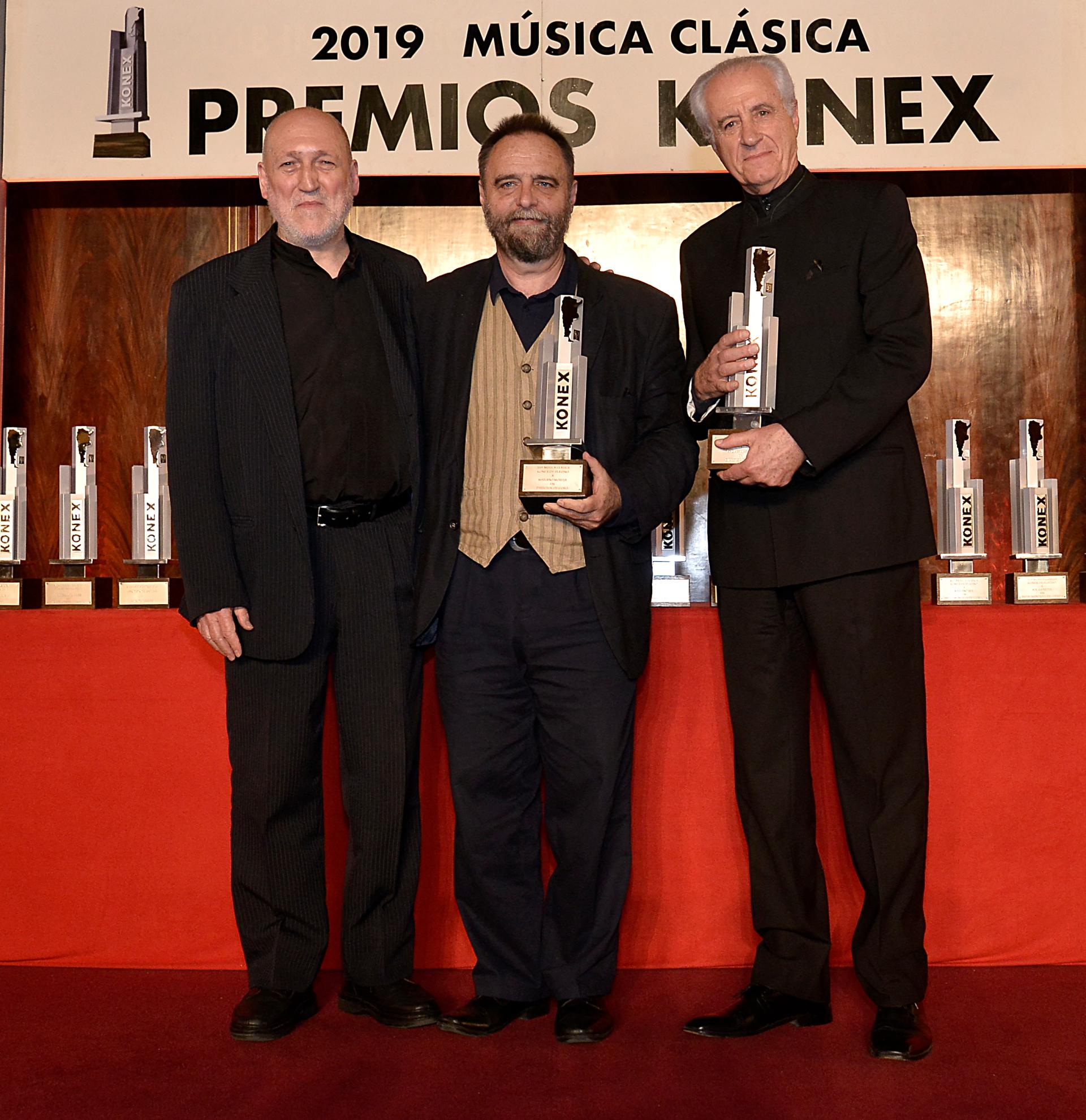 Los directores de Coro, Mariano Moruja y Andrés Máspero