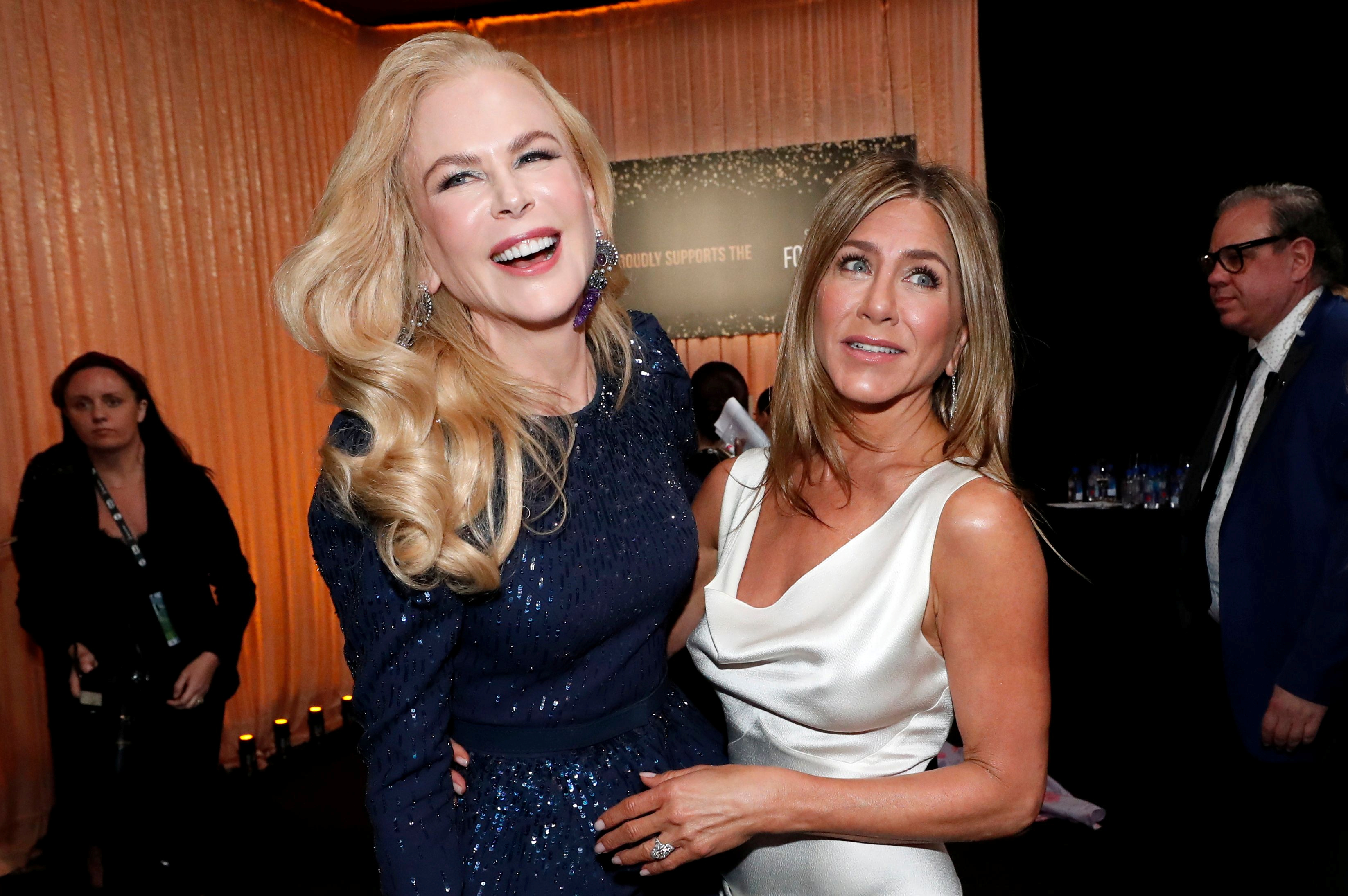 Nicole Kidman y Jennifer Aniston