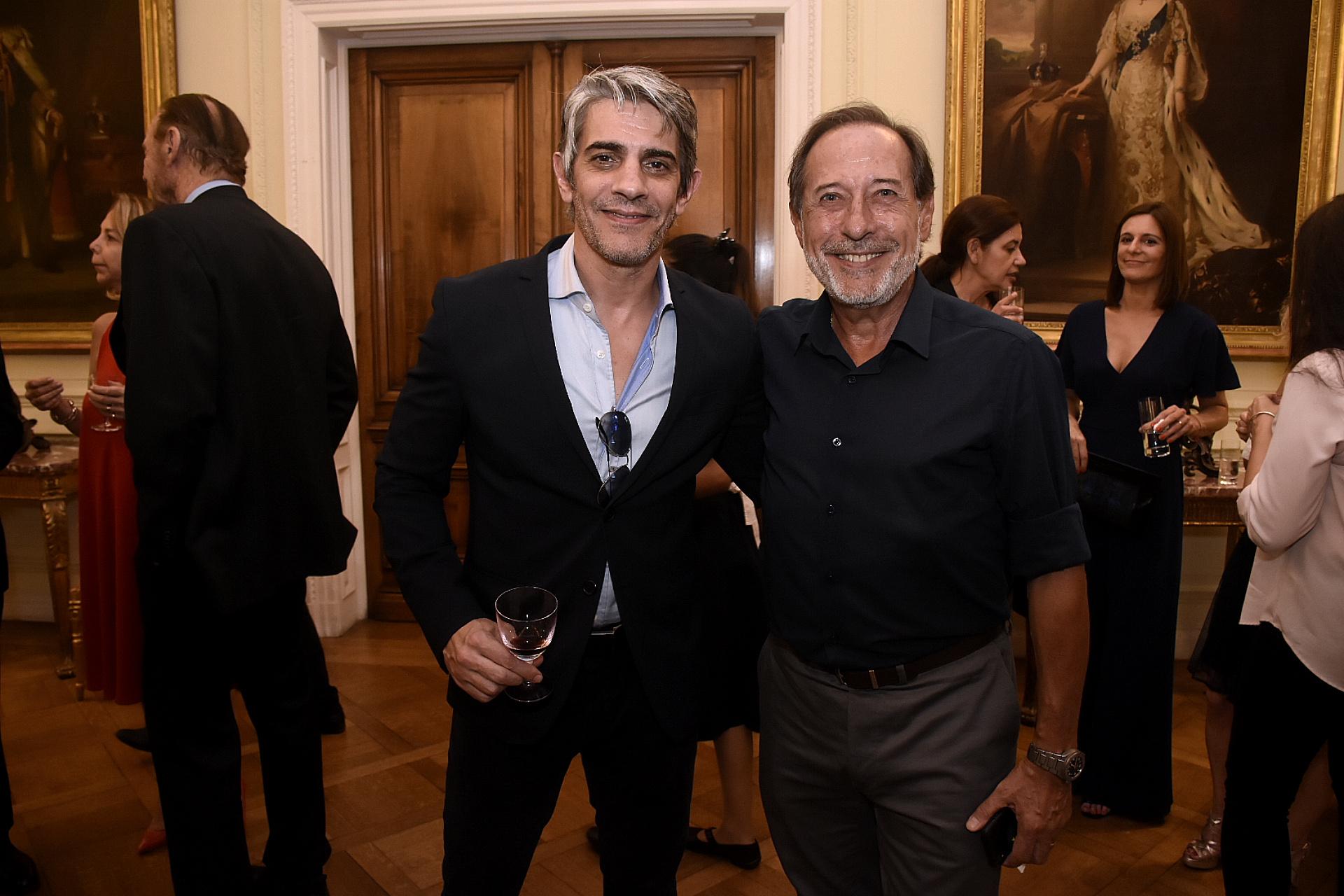 Pablo Echarri y Guillermo Francella