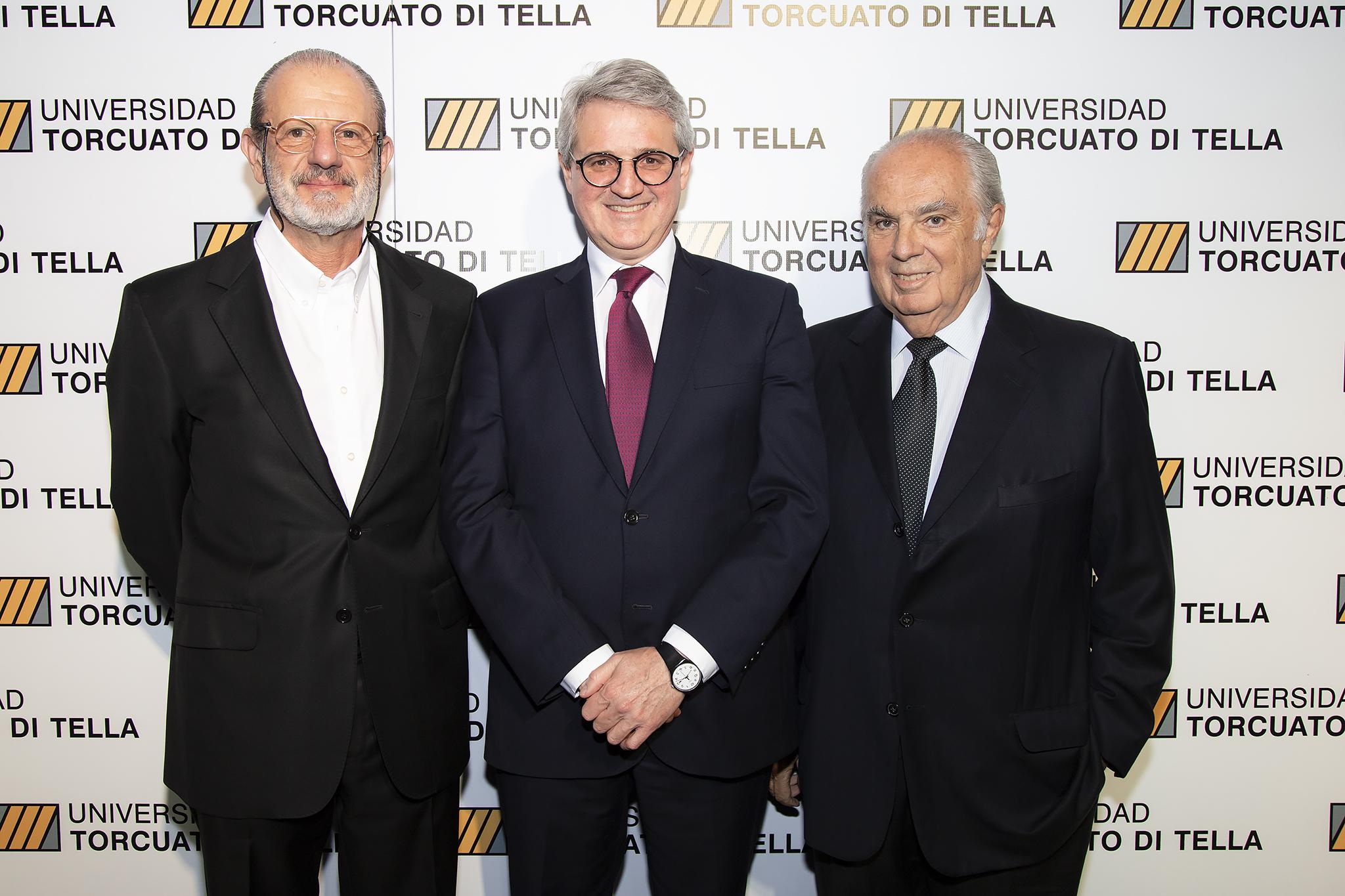 Roberto Vivo, Juan José Cruces y Juan Cambiaso