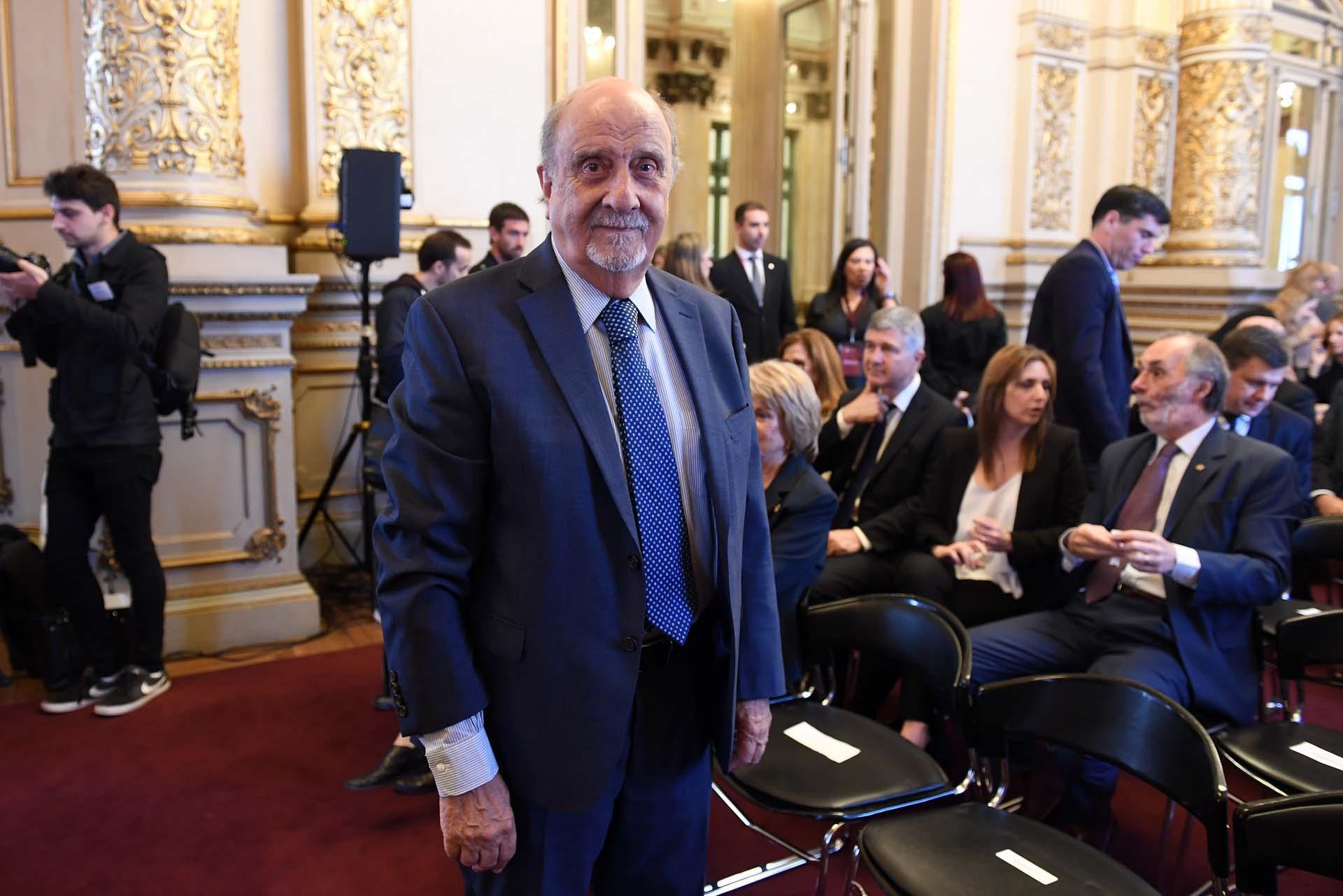 El presidente de Consejo de la Magistratura, Ricardo Recondo.