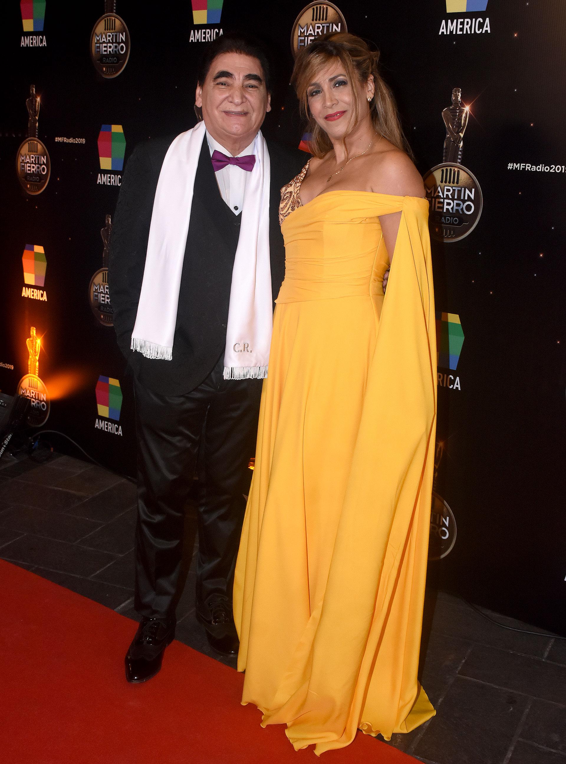 Cacho Rubio y su hija, Alejandra