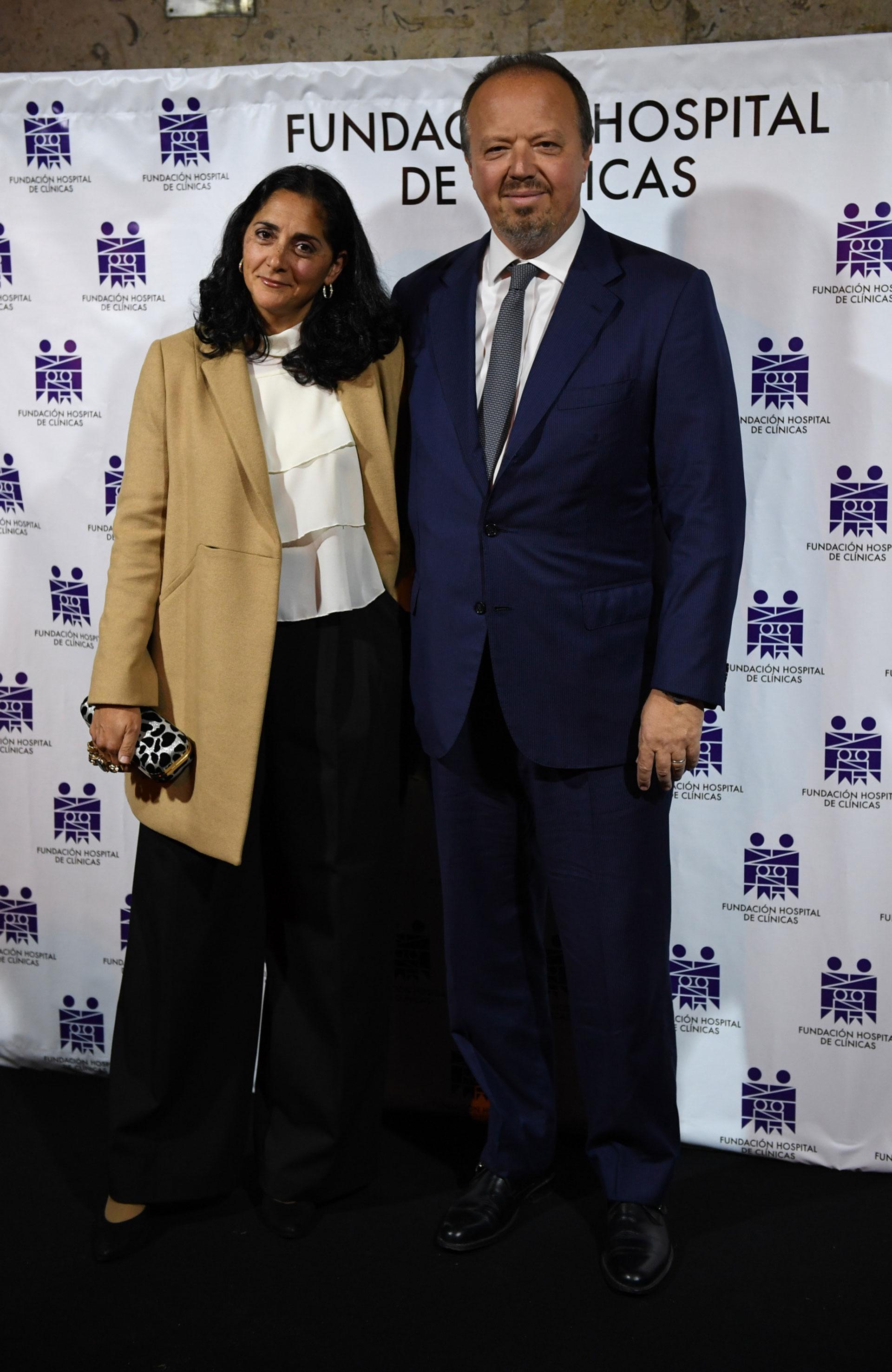 Juan Nápoli y su mujer María Laura Cristinz