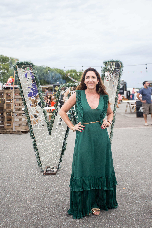 Belén Moroni, fundadora y creadora del festival Warmichella
