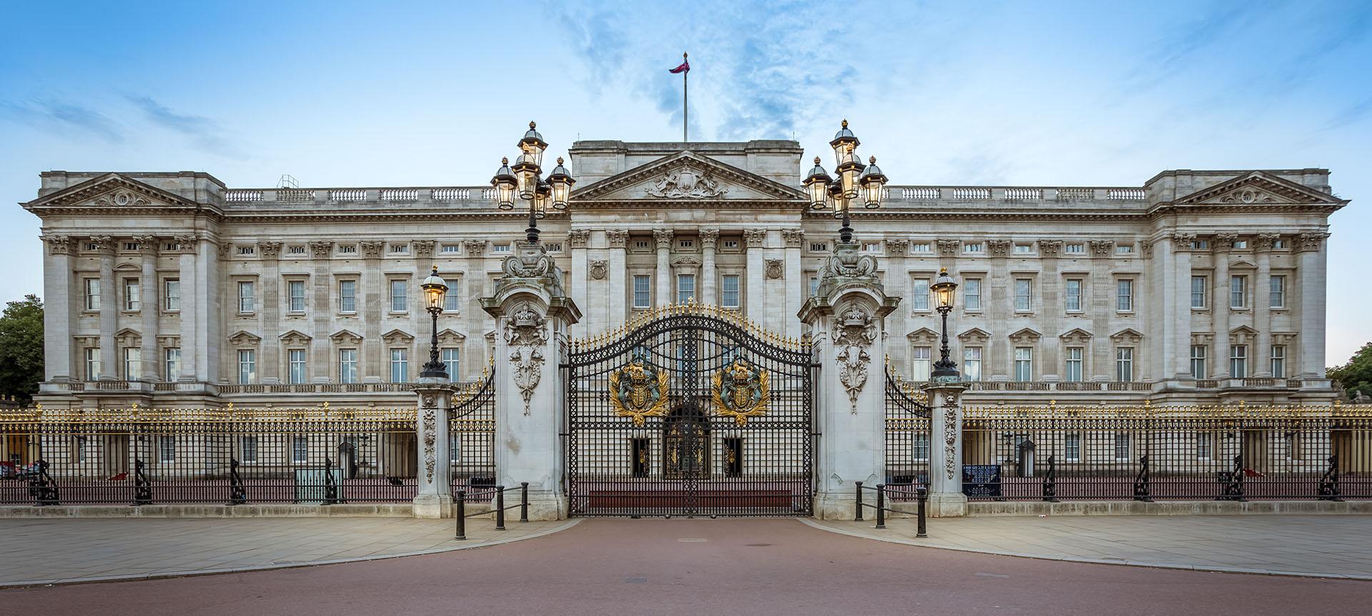 El Palacio de Buckingham es la residencia oficial del monarca británico en Londres, Reino Unido