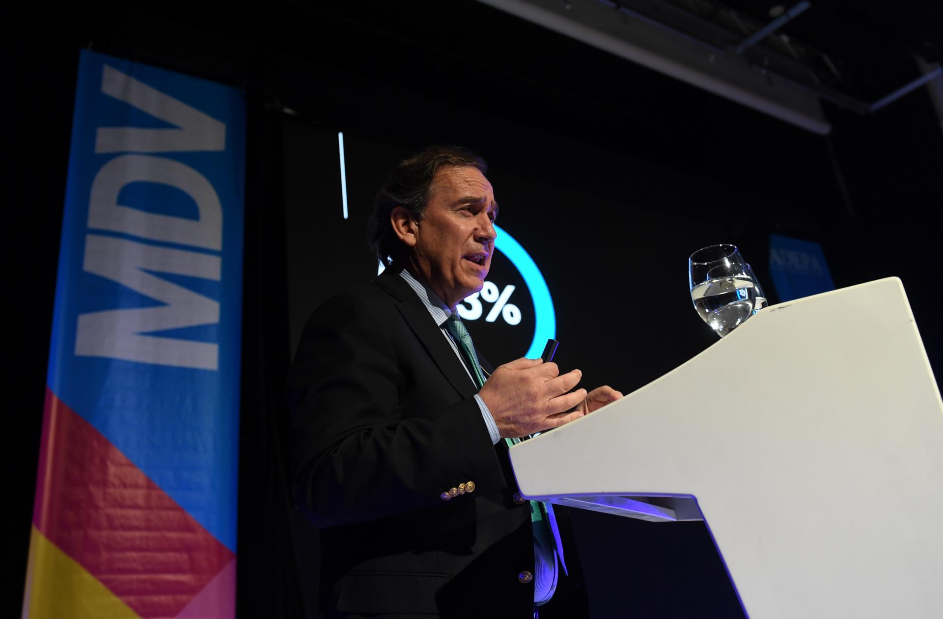 Juan Jaime Díaz Cuaquelin, presidente de la Asociación Nacional de Prensa de Chile, expuso sobre el desafío de las marcas y los medios