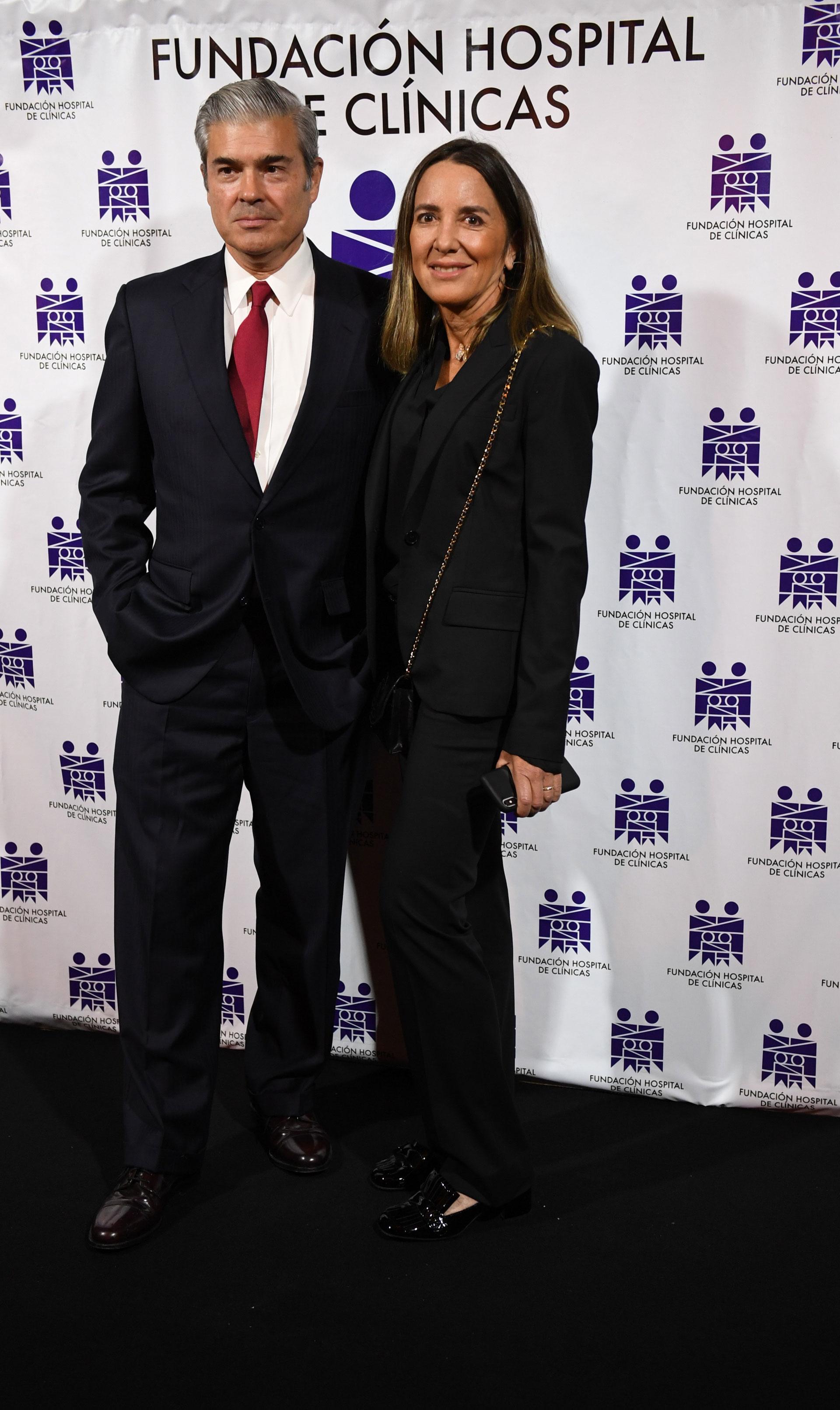 Bill Nutting y su mujer, Verónica Zoani de Nutting