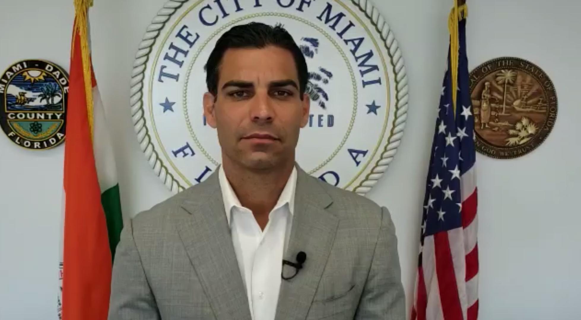 El alcalde de Miami se puso en cuarentena por el coronavirus - Infobae