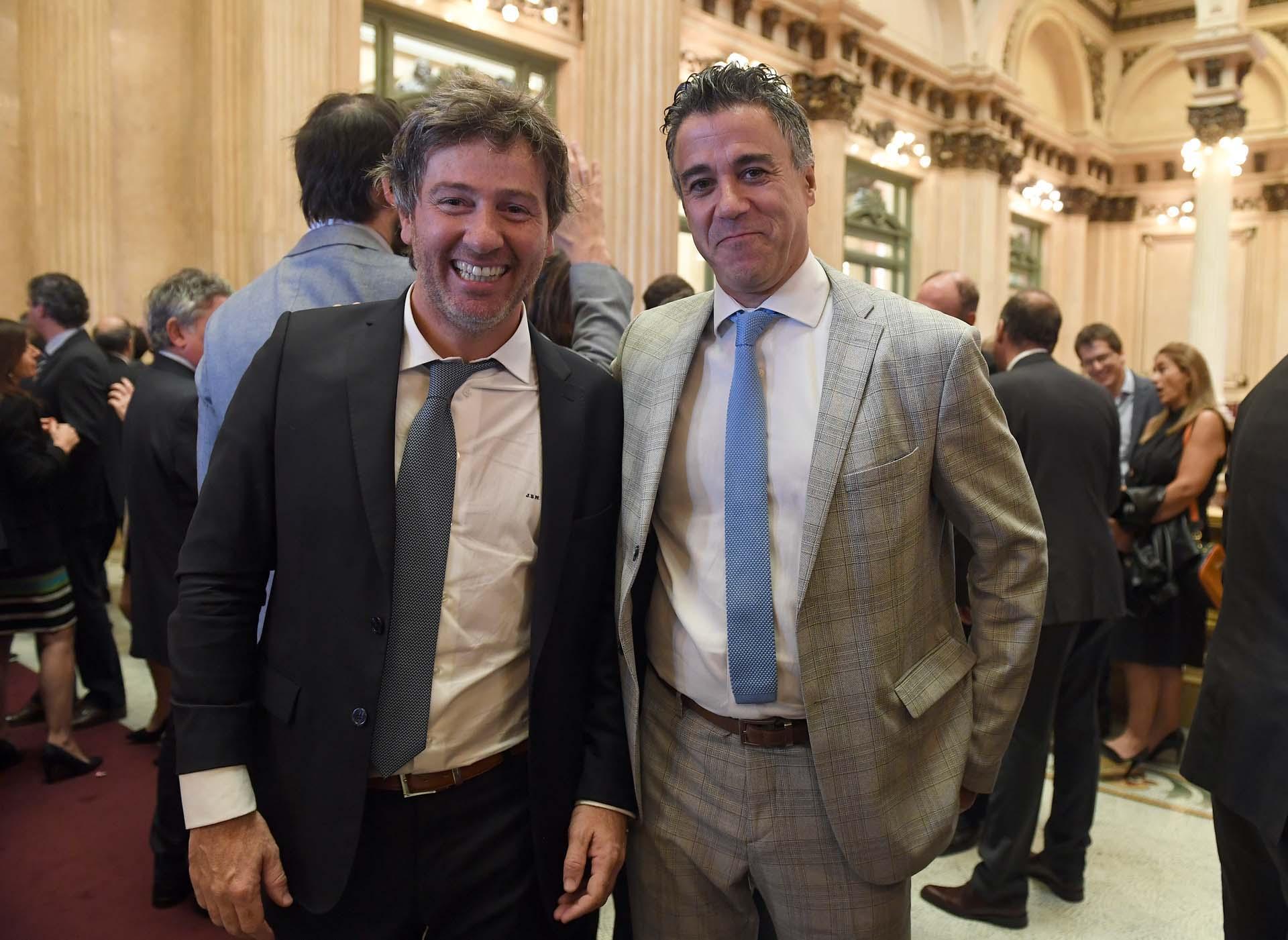 Juan Mahiques y el juez federal Daniel Rafecas
