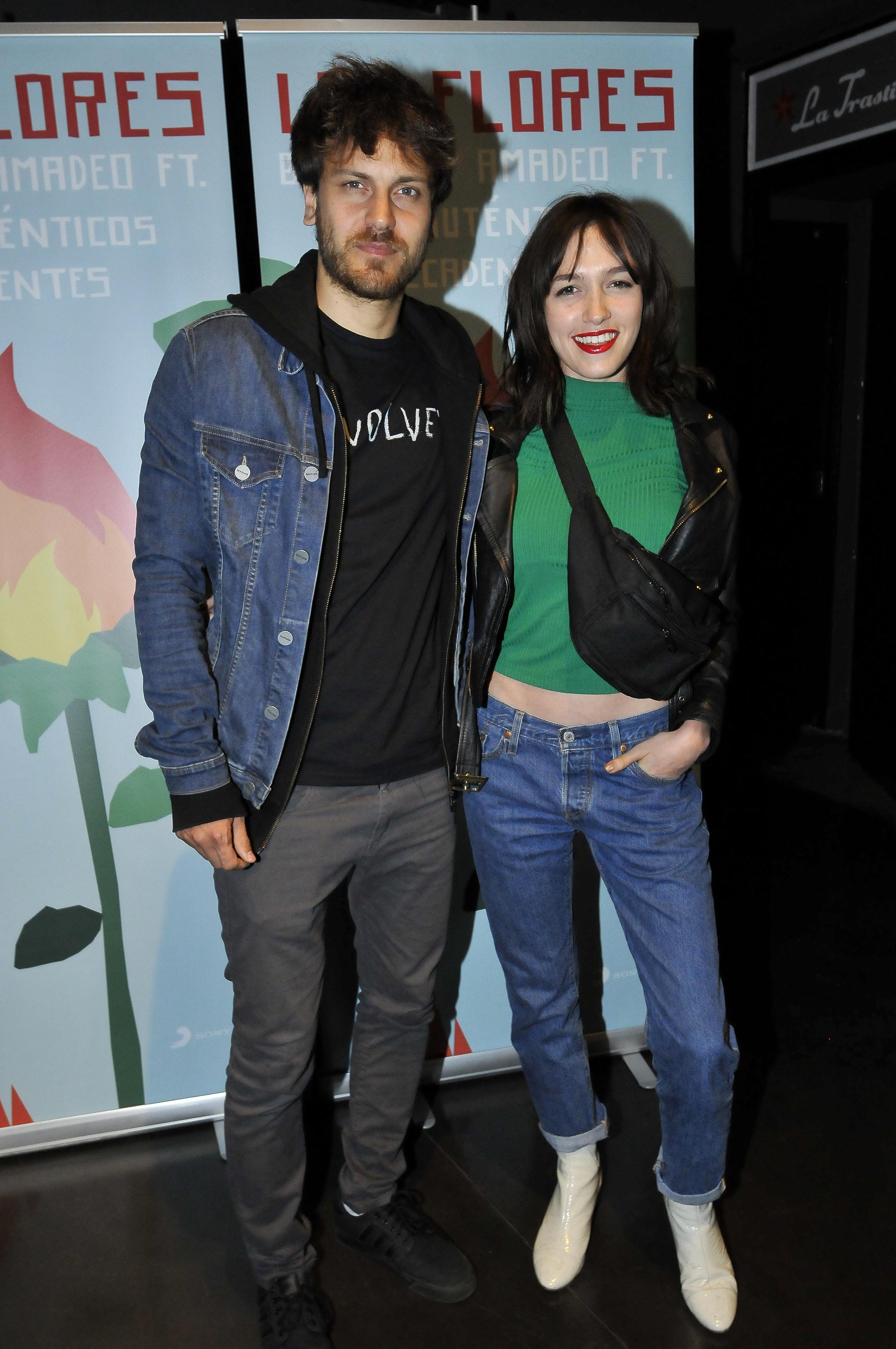 Cande Vetrano y su novio, Andrés Gil