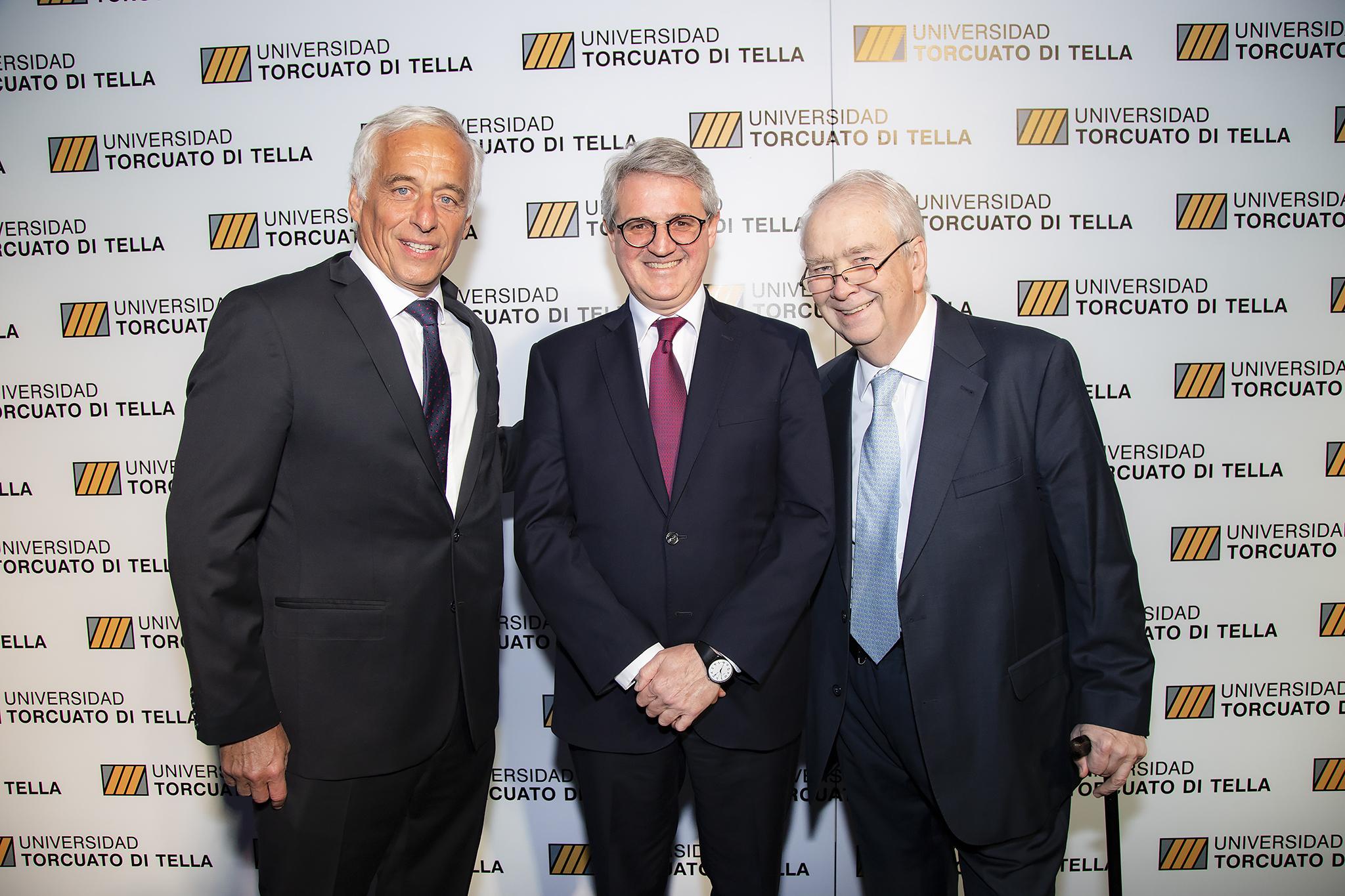 José Montaldo, Juan José Cruces y Carlos Franck