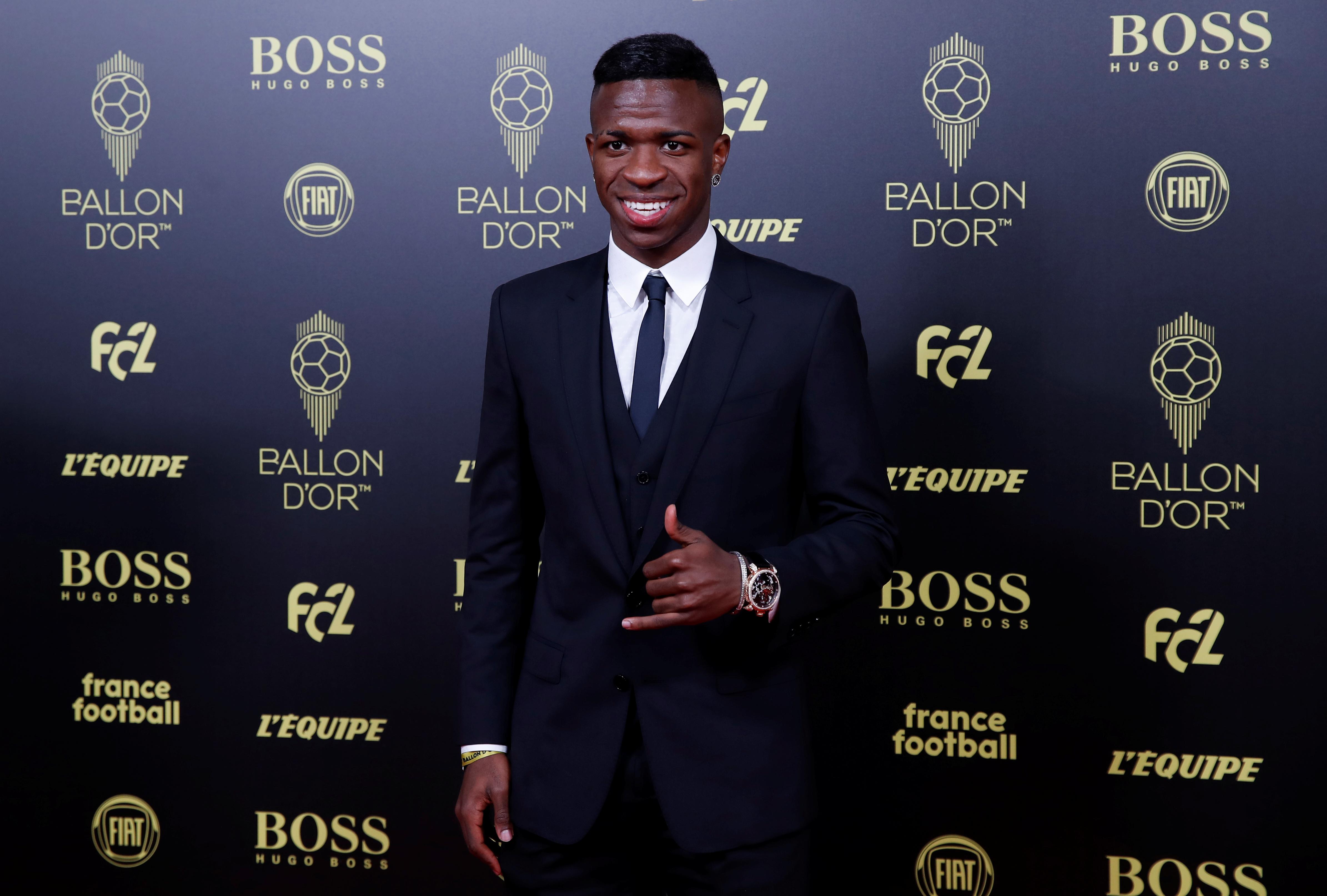 El brasileño Vinicius Junior fue nominado a la mejor promesa de 2019