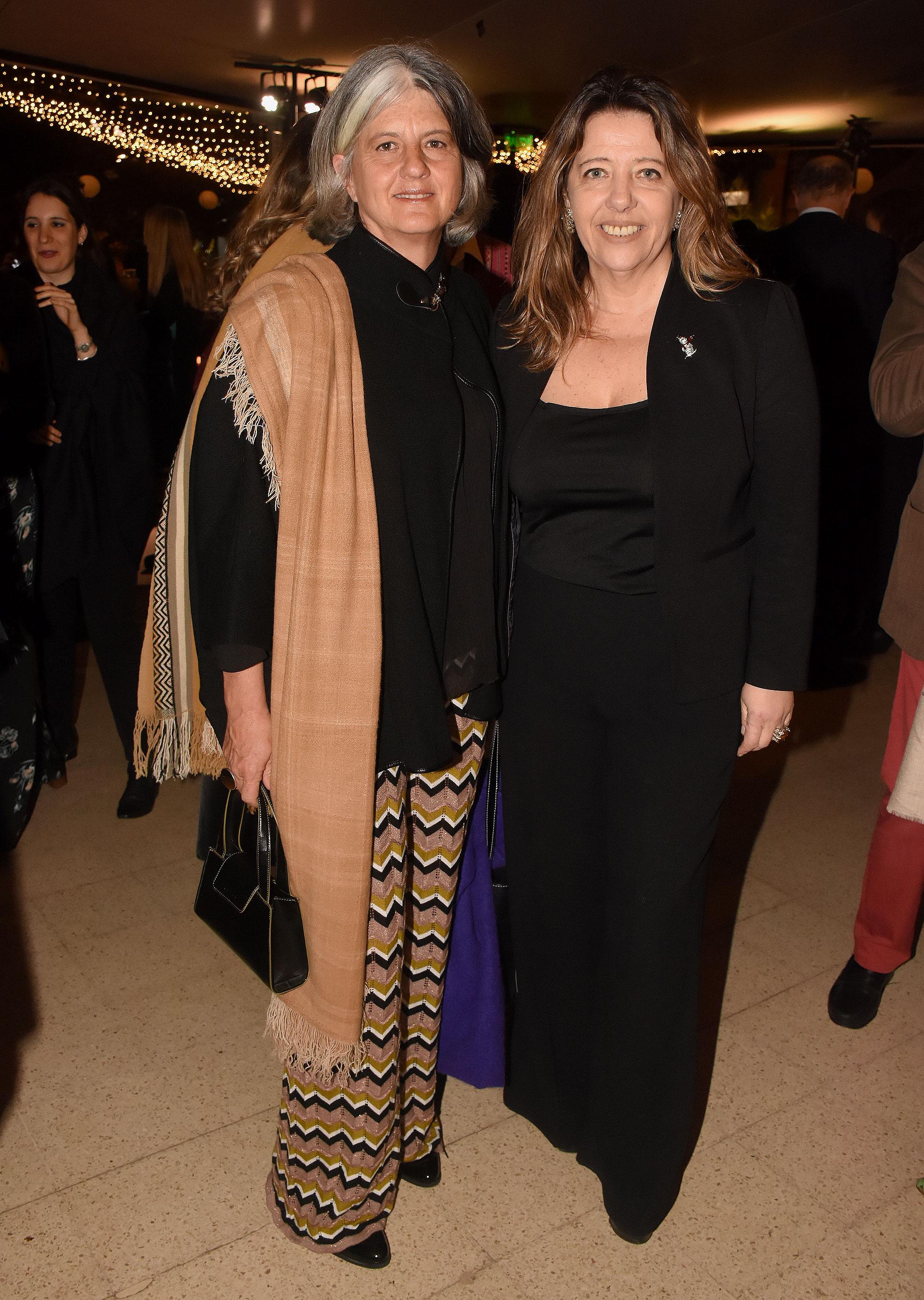 Belén Yuste y María Claudia Pedrayes
