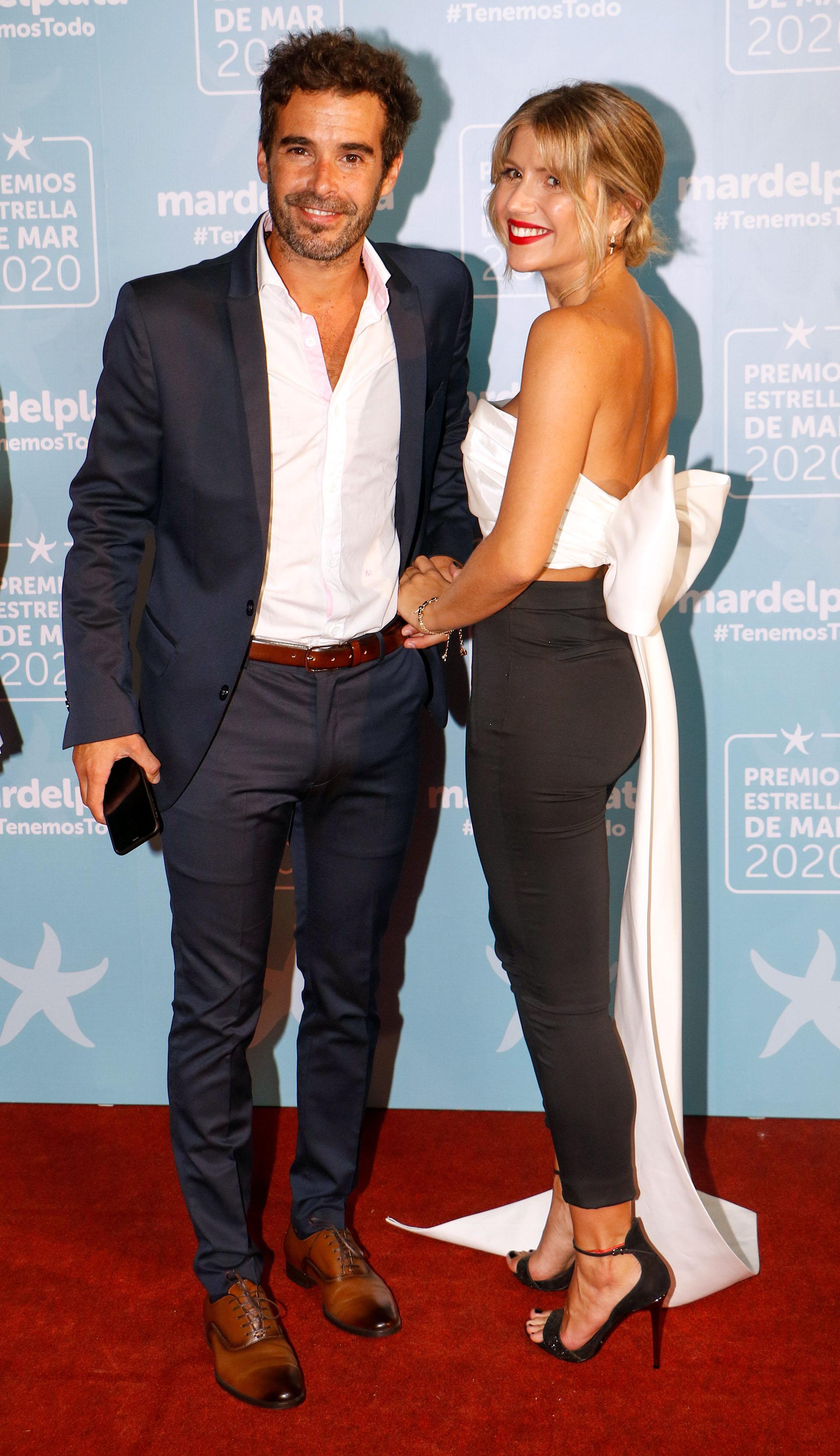Nicolás Cabré y Laurita Fernández (Fotos: Christian Heit)