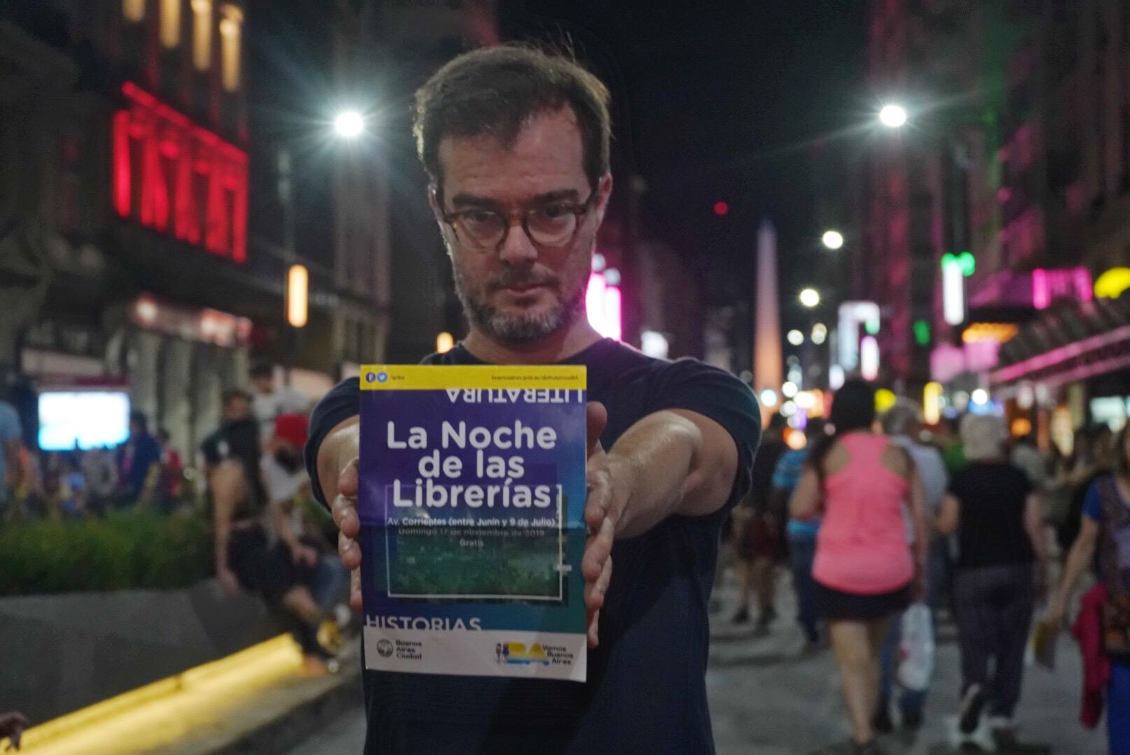 El ministro de Cultura porteño, Enrique Avogadro, también participó de
