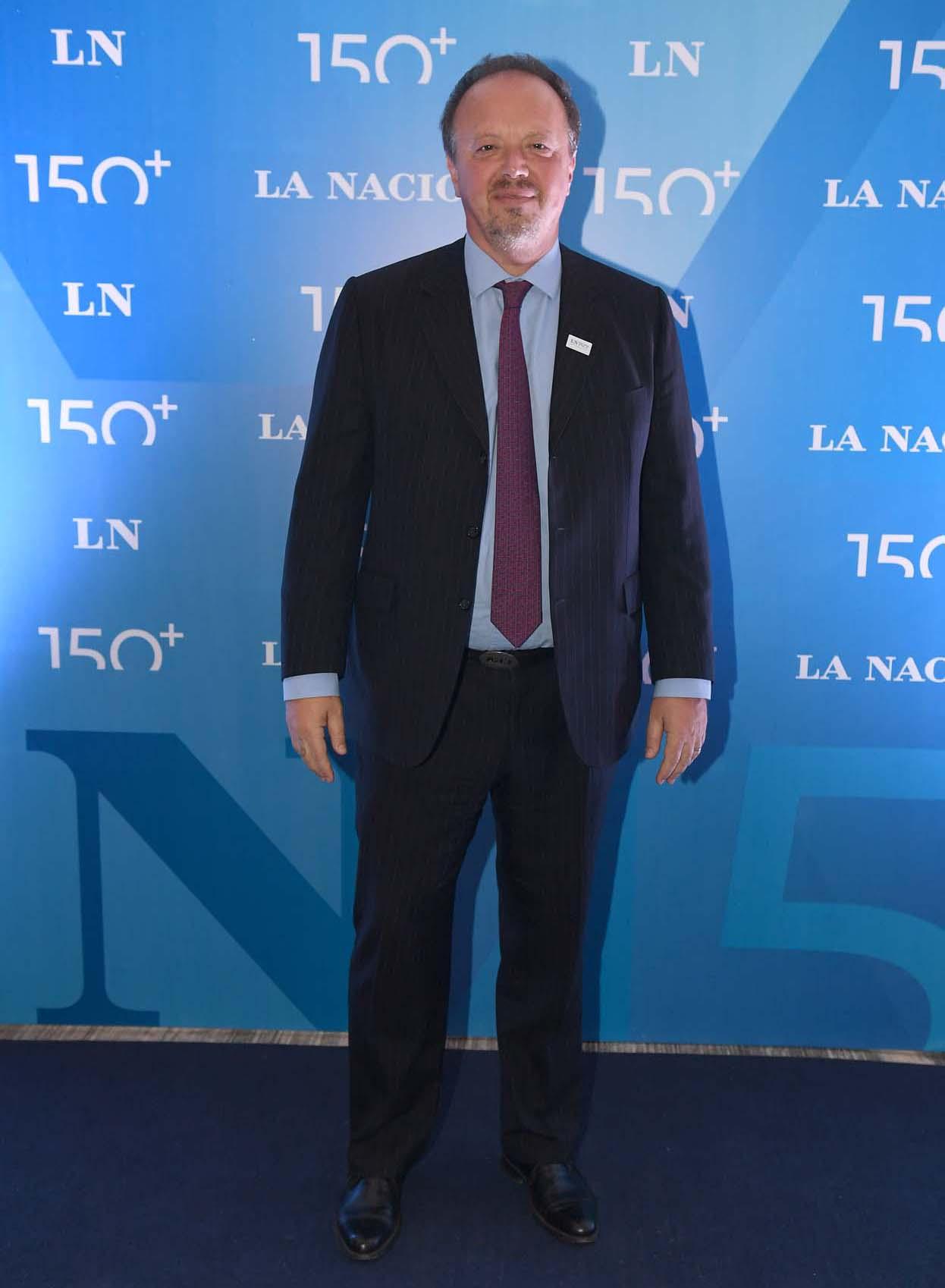 El presidente del Banco de Valores, Juan Nápoli