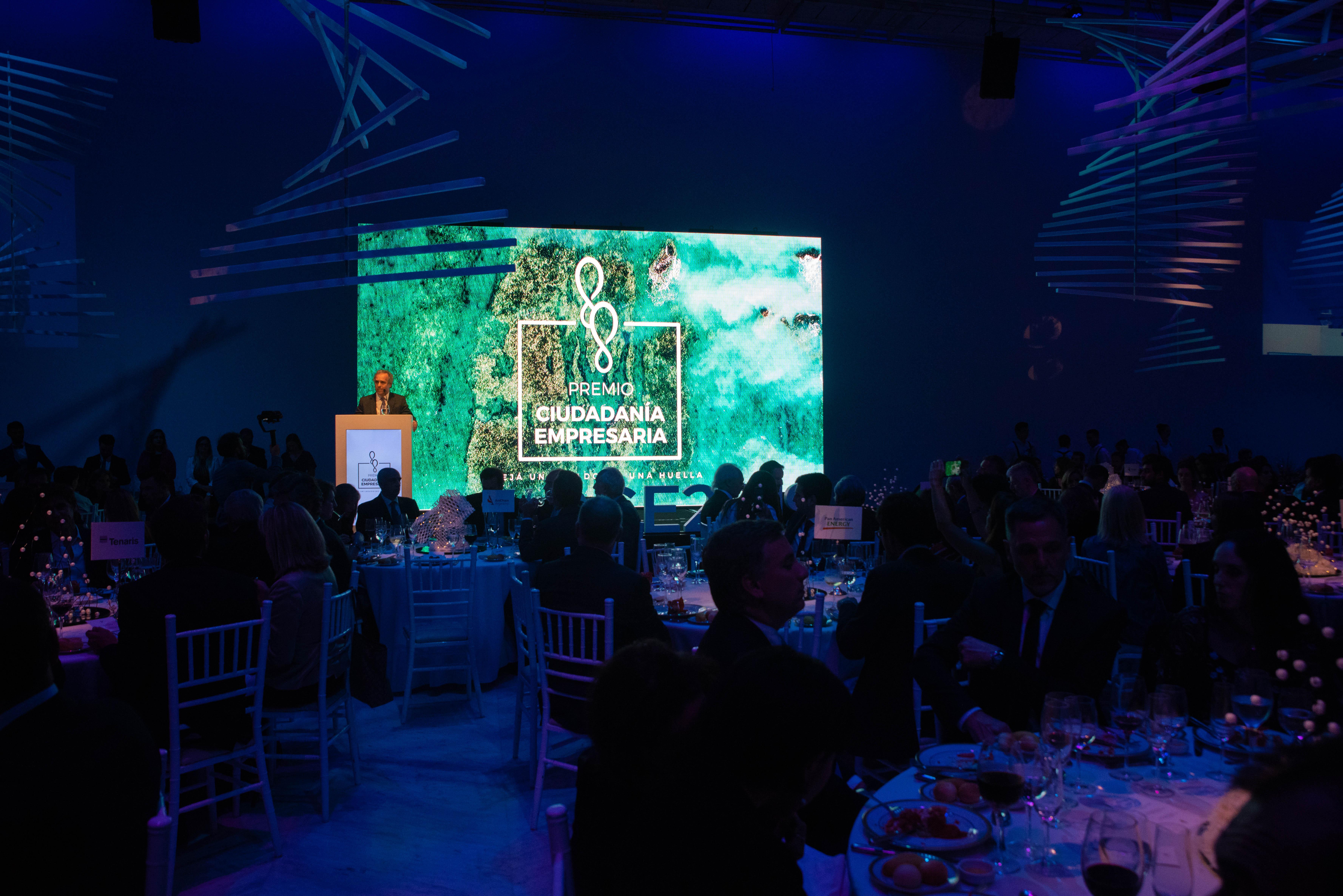 Ganadores 2019 del Premio Ciudadanía Empresaria: • Iniciativas Sustentables en Gobierno Corporativo – Valores de Responsabilidad Socioambiental: Grupo Arcor • Gobierno Corporativo- Transparencia y Rendición Responsable de Cuentas: San Miguel • Gobierno Corporativo – Involucramiento de Partes Interesadas: Telefónica • Iniciativas Sustentables Medioambiente – Uso de Energía: Cervecería y Maltería Quilmes • Iniciativas Sustentables Medioambiente – Uso de Agua: Toyota • Iniciativas Sustentables Medioambiente- Huella de Carbono: Novartis • Iniciativas Sustentables Sociedad- Colaboradores Internos: SAP • Iniciativas Sustentables Sociedad- Comunidades: Tenaris • Iniciativas Sustentables Sociedad- Proveedores: Walmart • Ganador Nuevo Paradigma Empresario: Hilandería Warmi