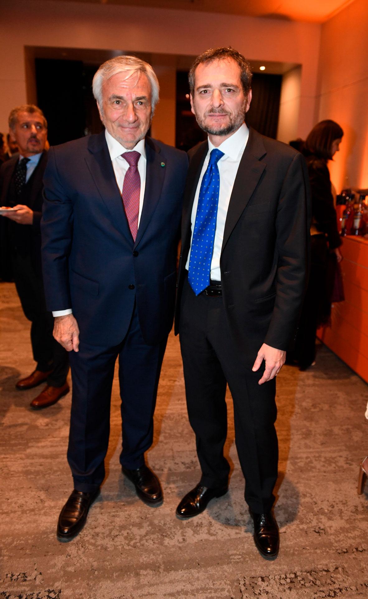 Claudio Zin y Riccardo Smimmo