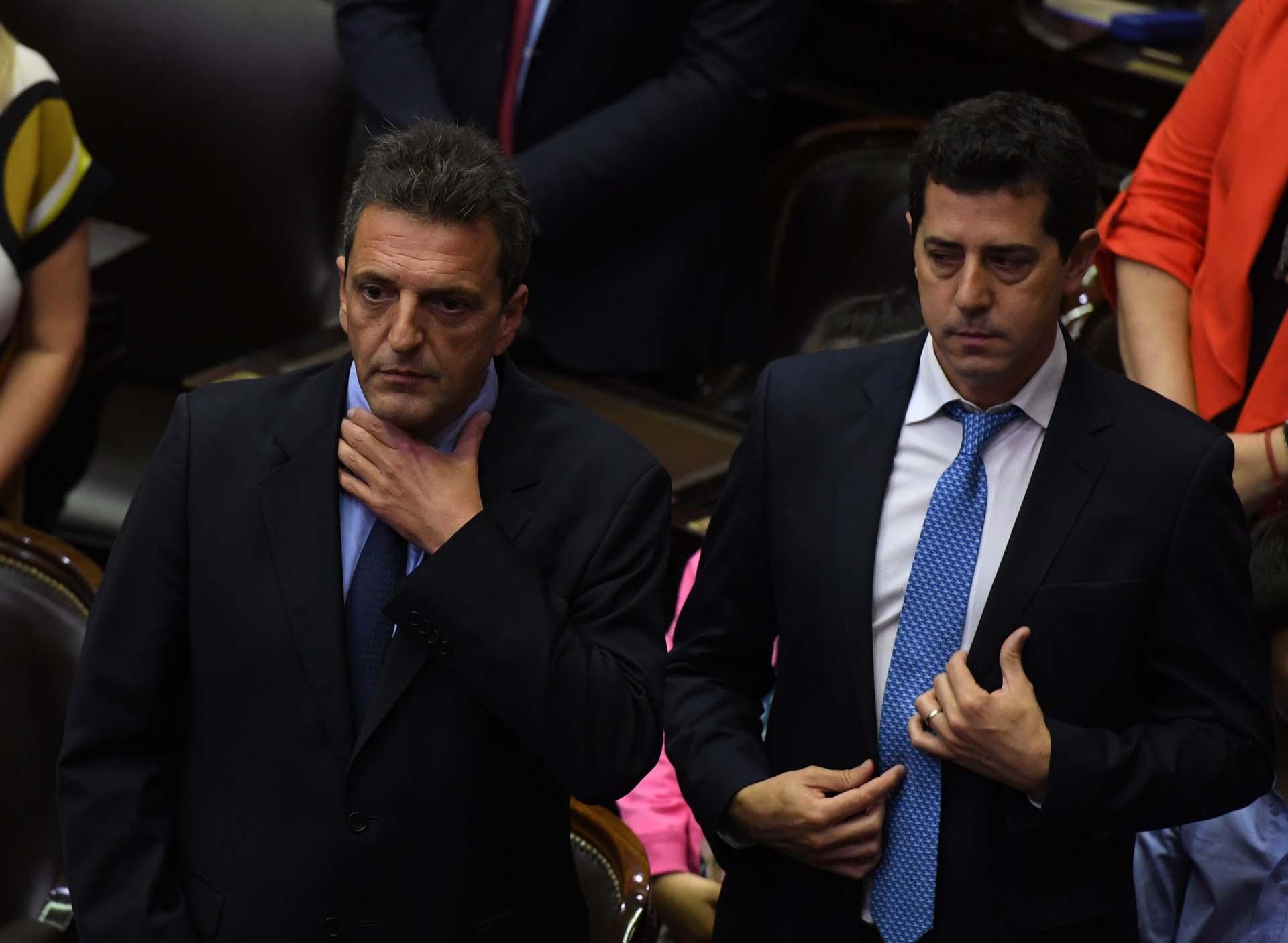 Sergio Massa y Eduardo