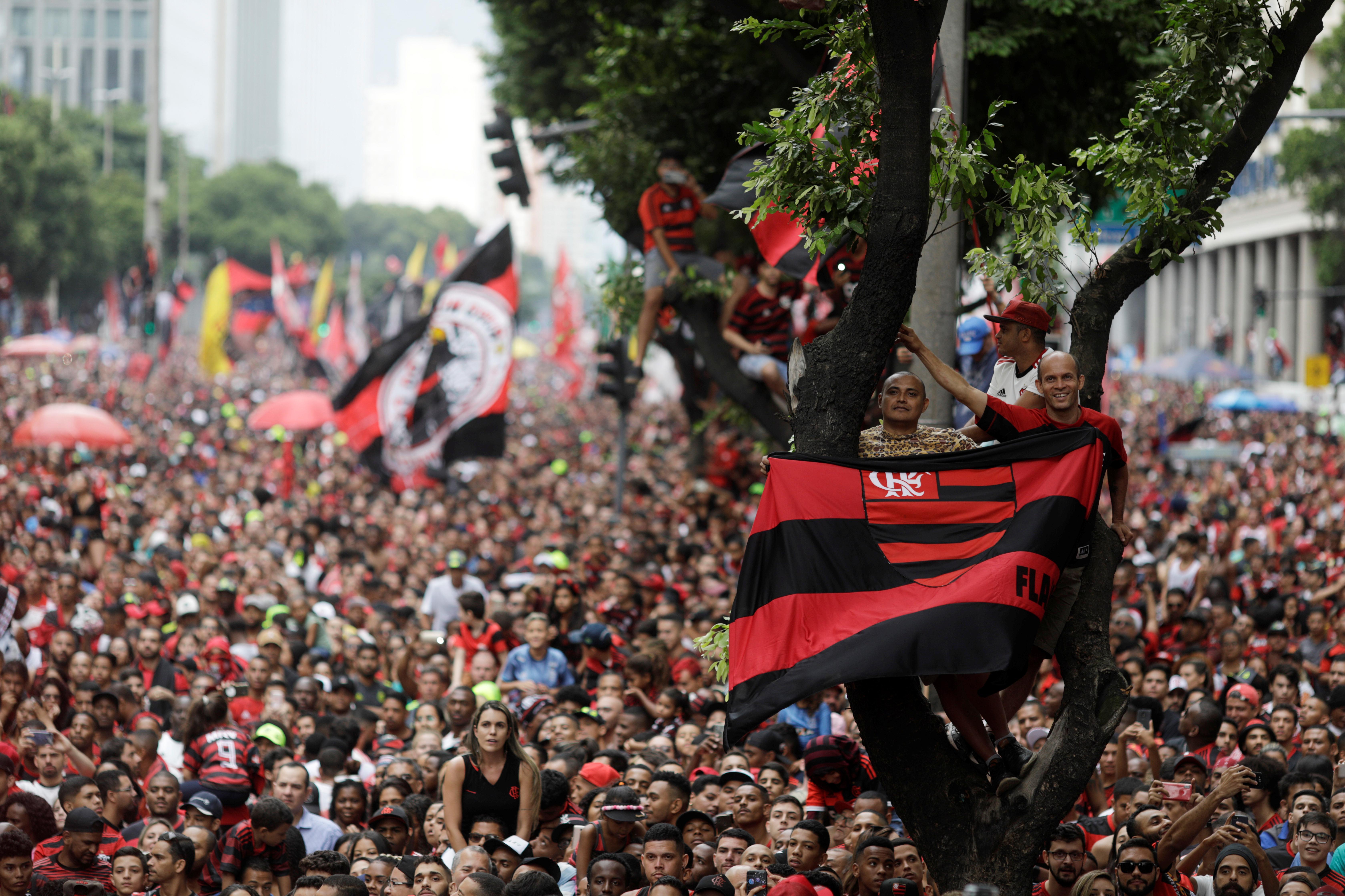 Flamengo tiene ahora dos trofeos de Copa Libertadores