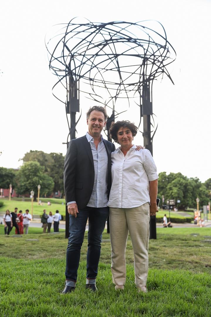 Pablo Reinoso y Orly Benzacar