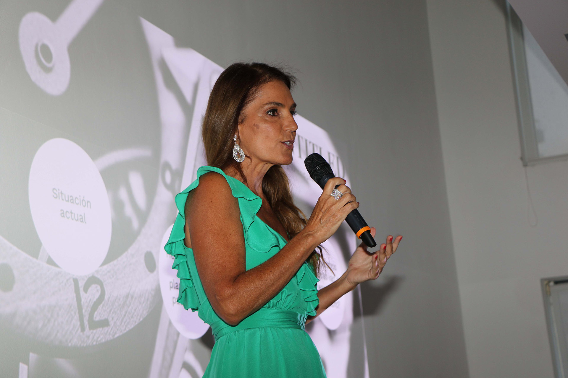 María Belén Chapur presentó a Martín Litwak