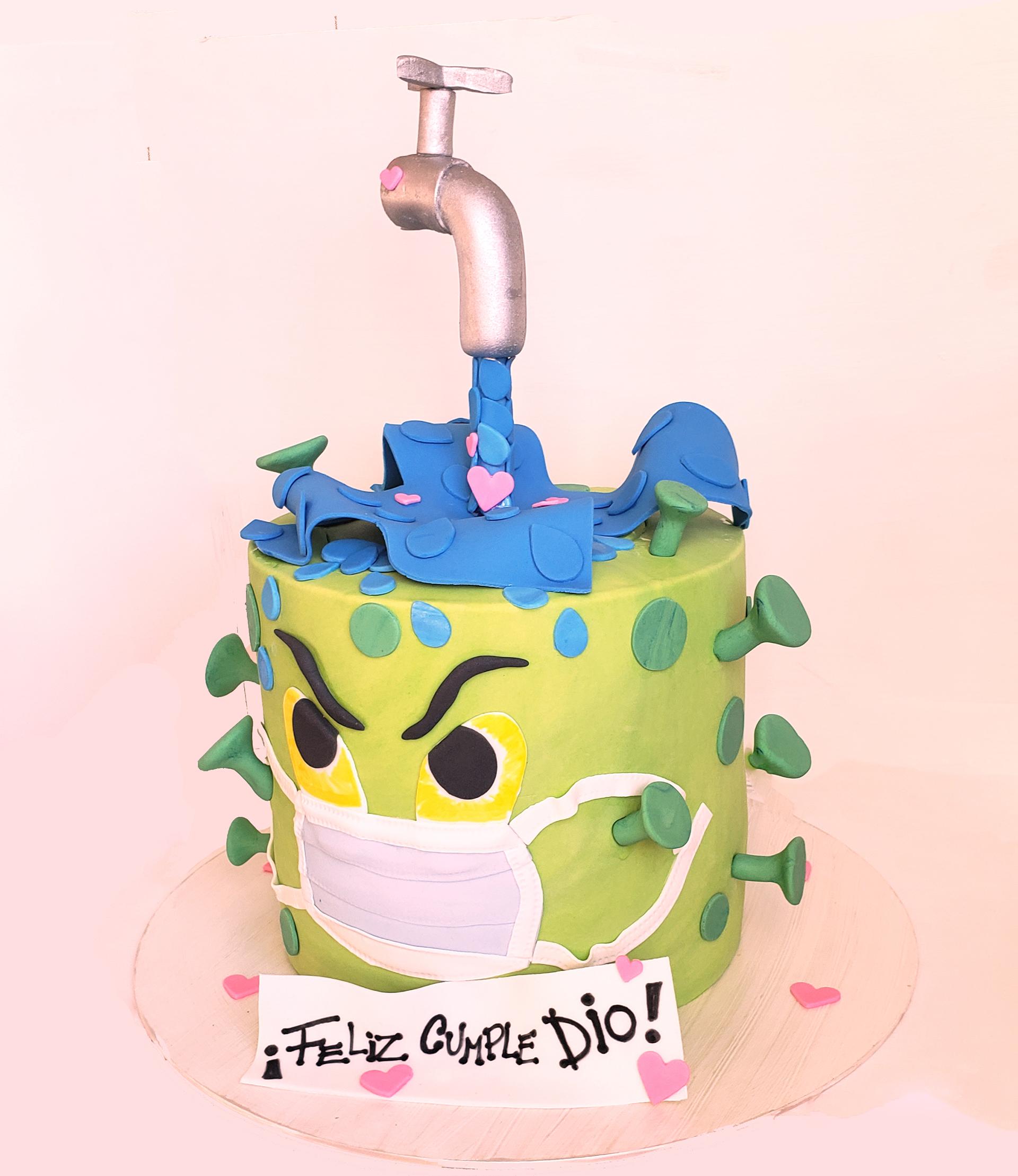 El diseño creado por Mariela Lusinian, ideada junto con Marcela Román para celebrar el cumpleaños número 2 de Dionisio, el hijo de Flavio Mendoza