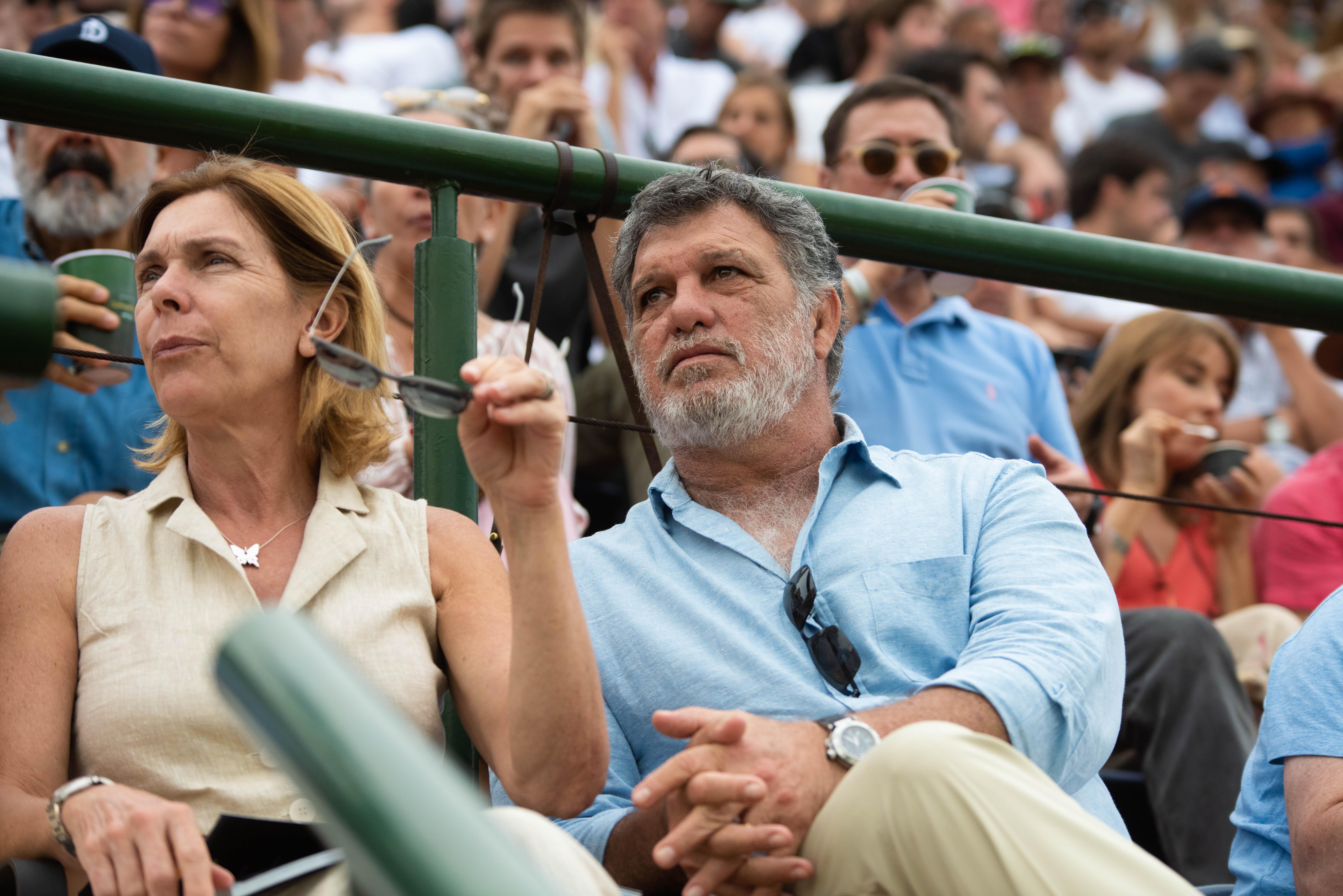 Gianfranco Macri y su mujer Eliane Badessich