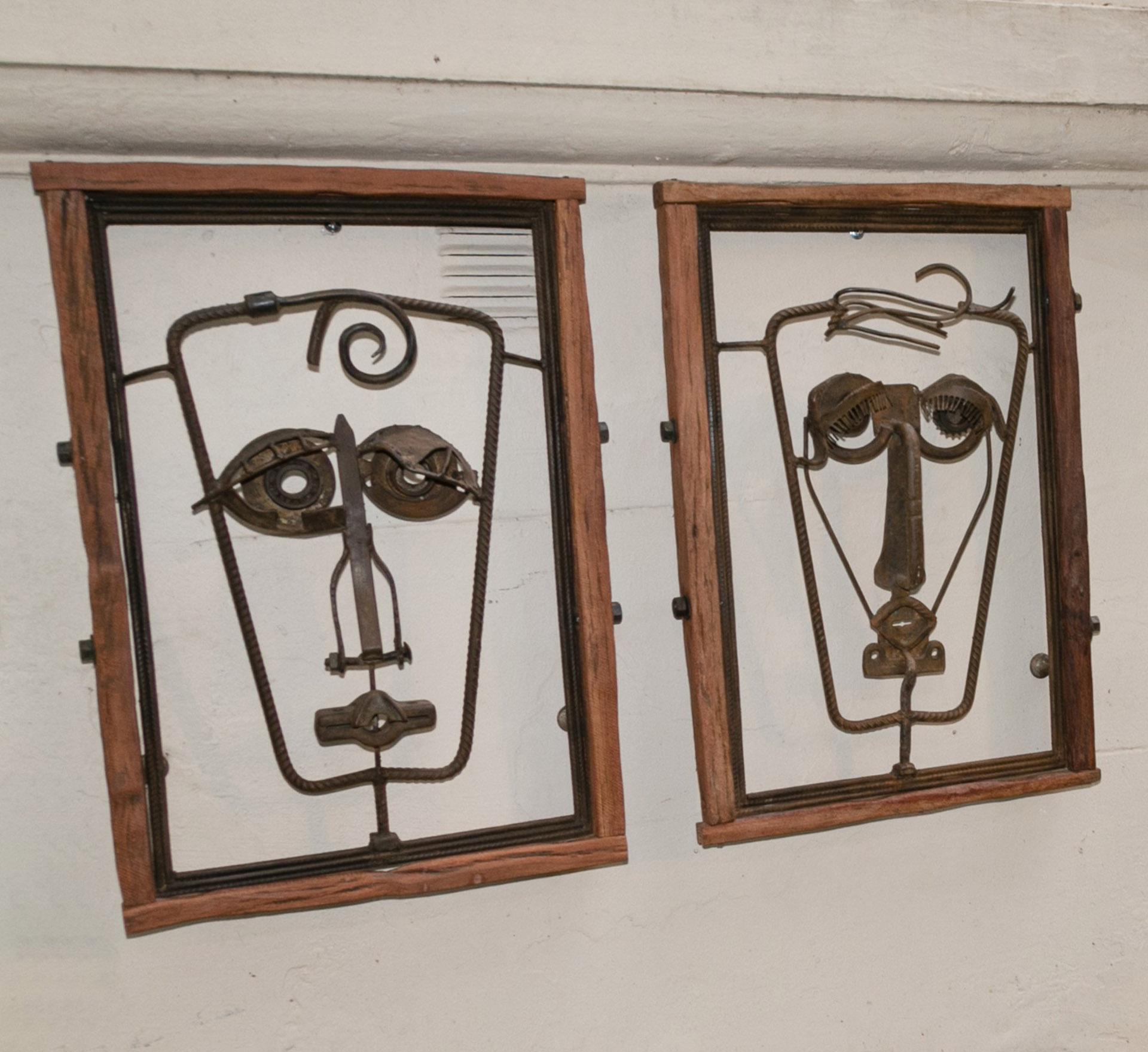 """En nuestro país, Carmela Blanco expuso sus obras en el Centro Cultural Borges, en la Municipalidad de Vicente López, en el Salón Nacional de Artes Visuales """"Palais de Glace"""" y en Expotrastiendas"""