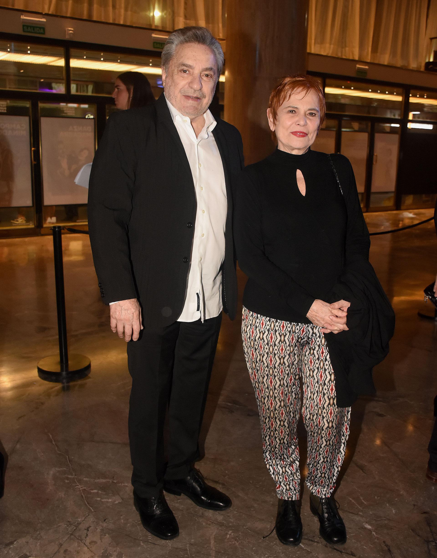 Antonio Grimau y Leonor Manso