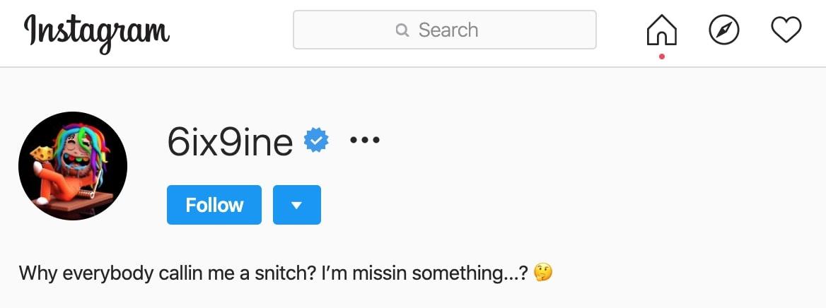 Hernández utilizó su cuenta de Instagram para bromear (Foto: Captura de pantalla)