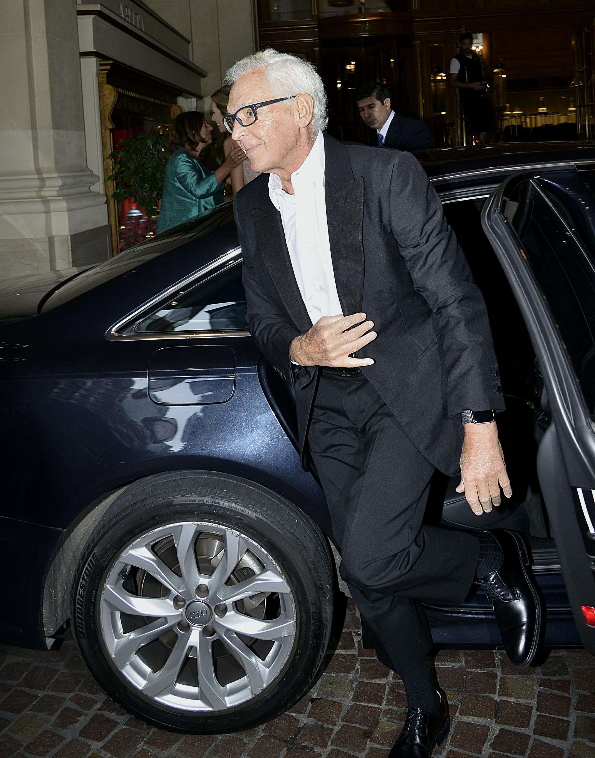 La llegada del empresario Eduardo Costantini