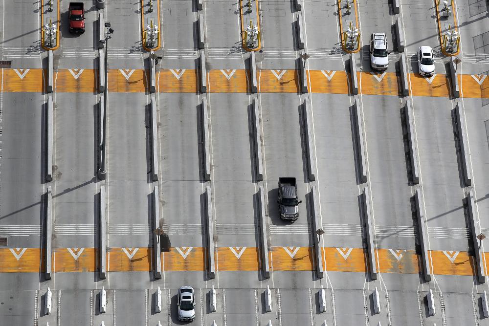 Frontera EU San Diego (Foto: AFP)