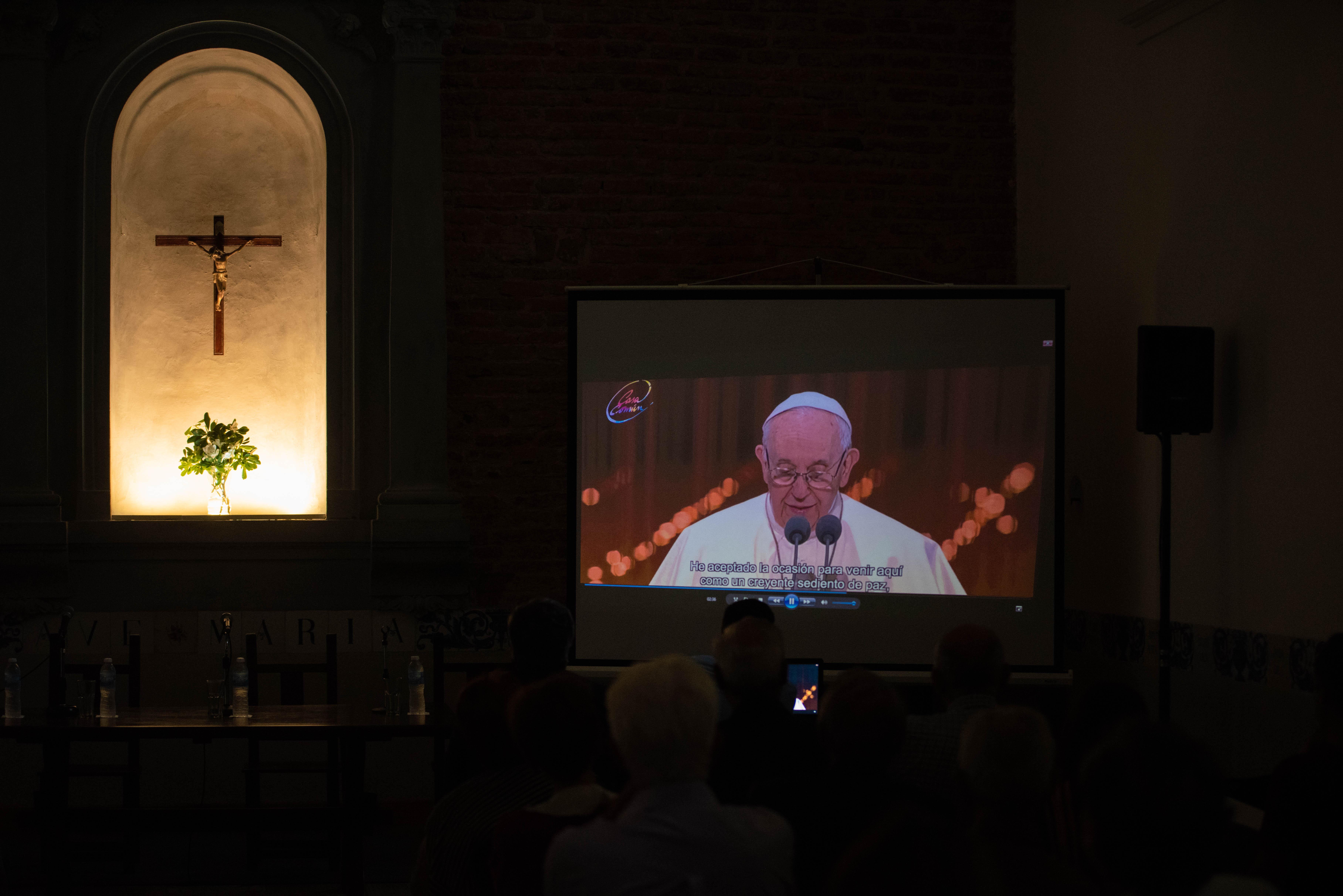 La entidad civil hizo una síntesis con un video que incluye los momentos claves del pontificado del Papa Francisco.