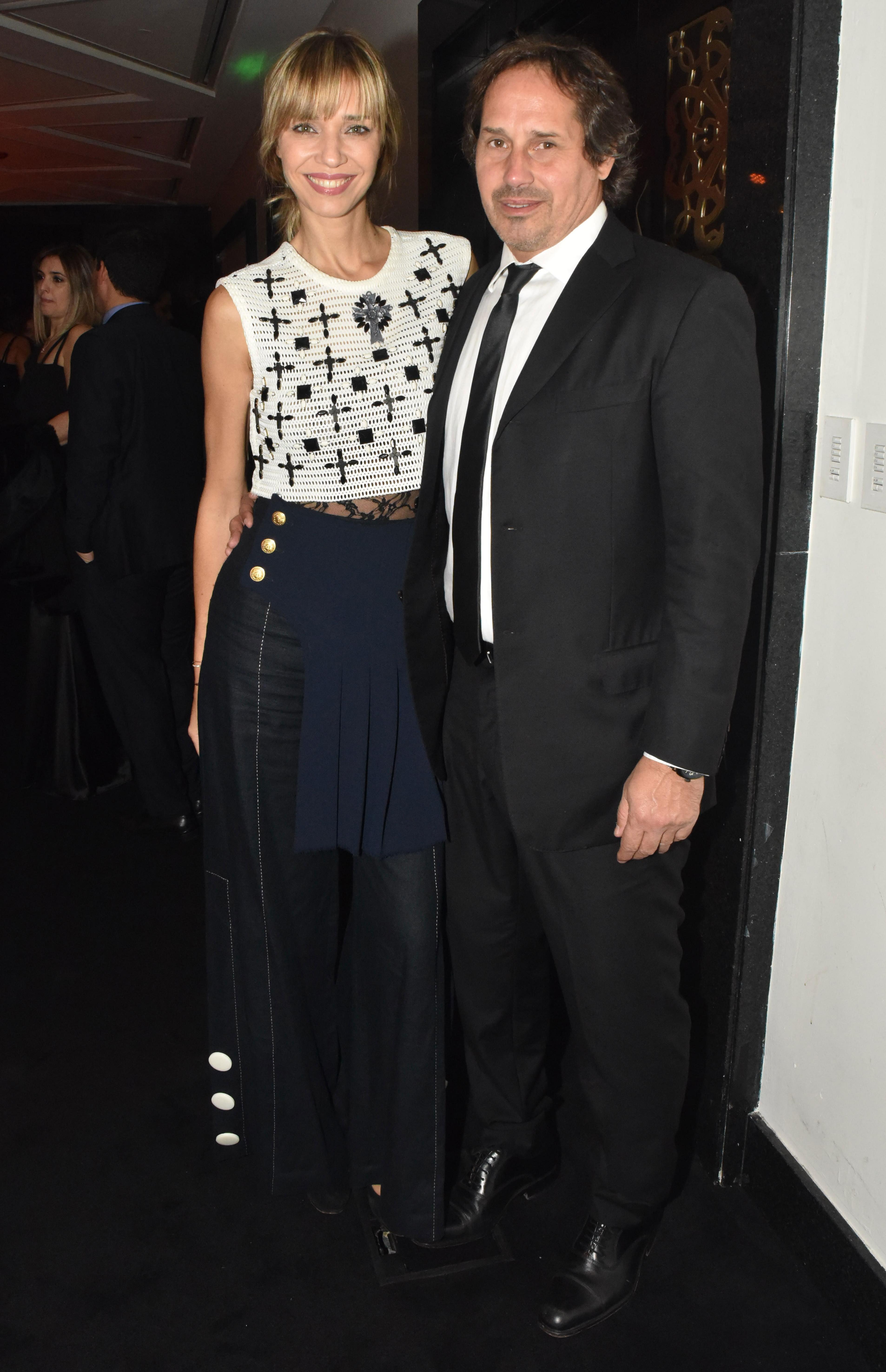 Lorena Ceriscioli y Juan Pablo Ramognino
