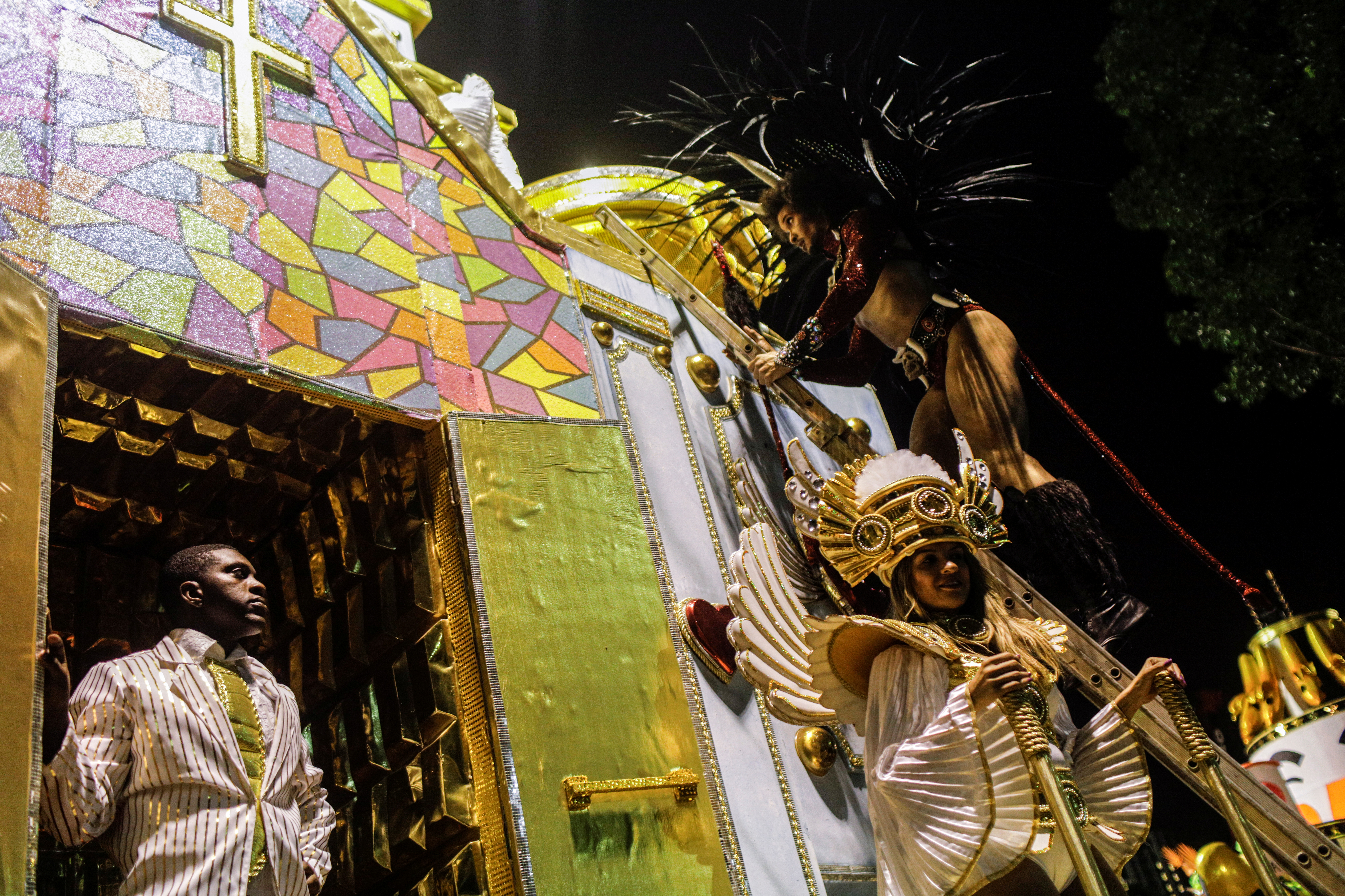 Sao Clemente samba school REUTERS/Ricardo Moraes