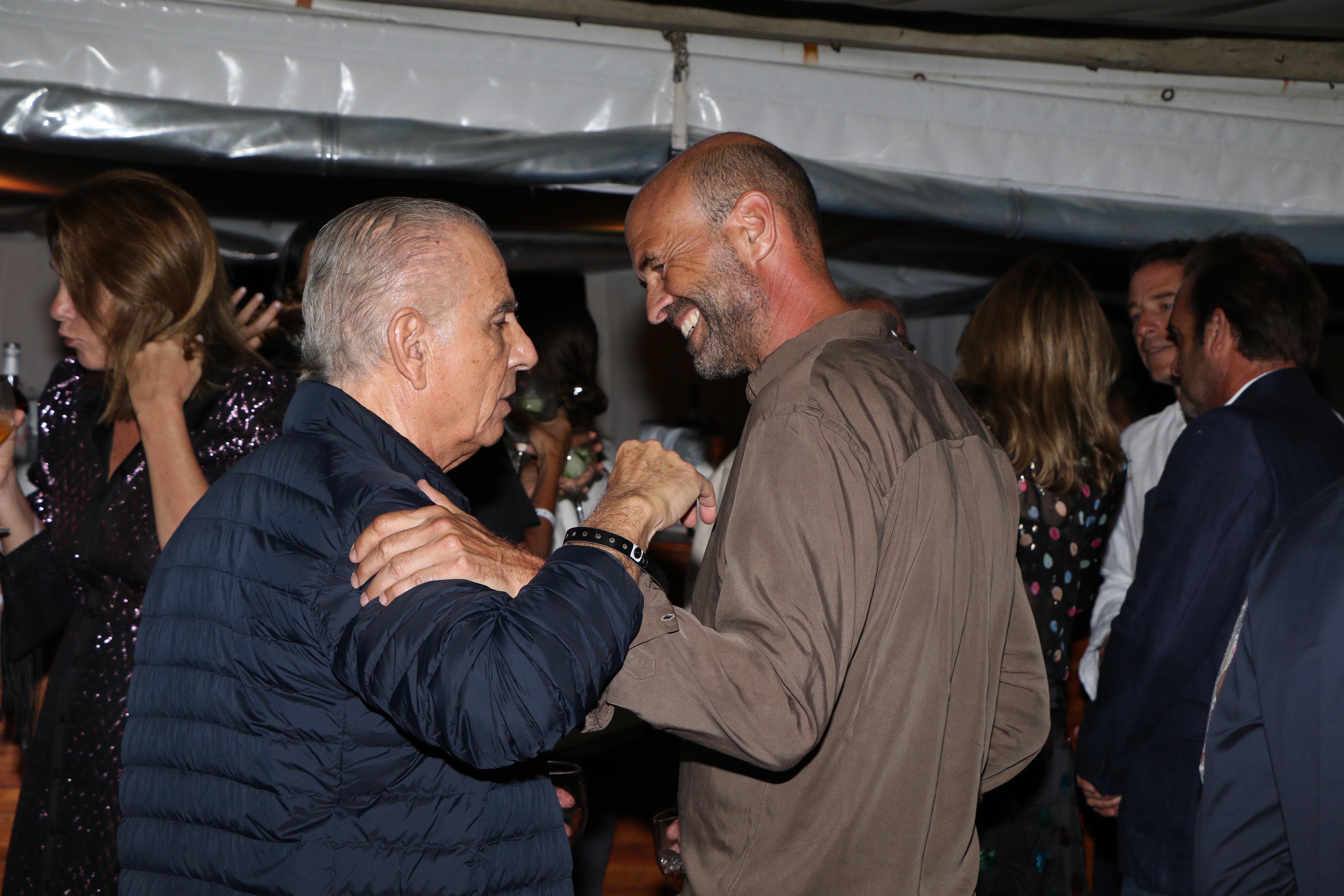 Alejandro Bulgheroni y Guillermo Dietrich