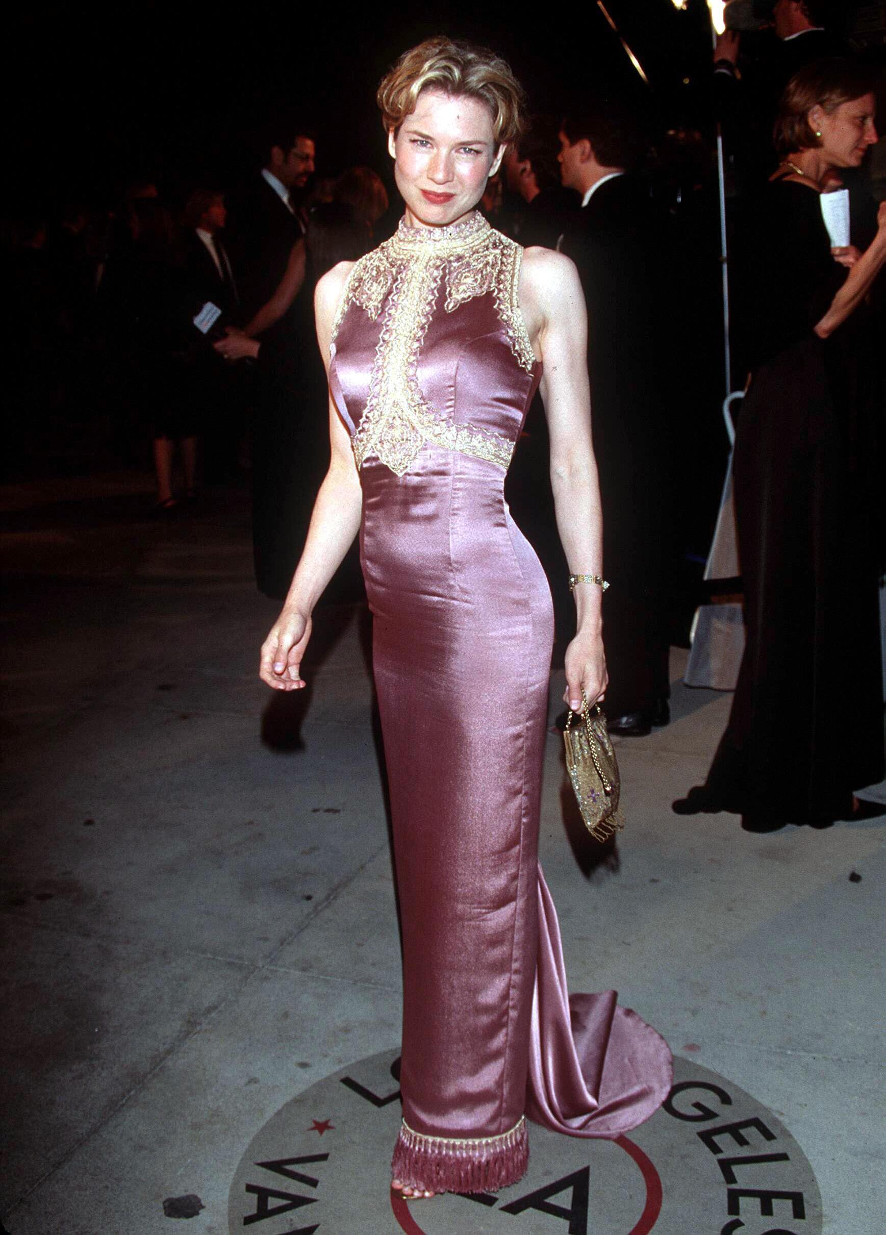 Renée Zellweger en la edición 71ª de los premios de la Academia de Hollywood en 1999. Esta noche compite por su segundo Oscar por su papel en