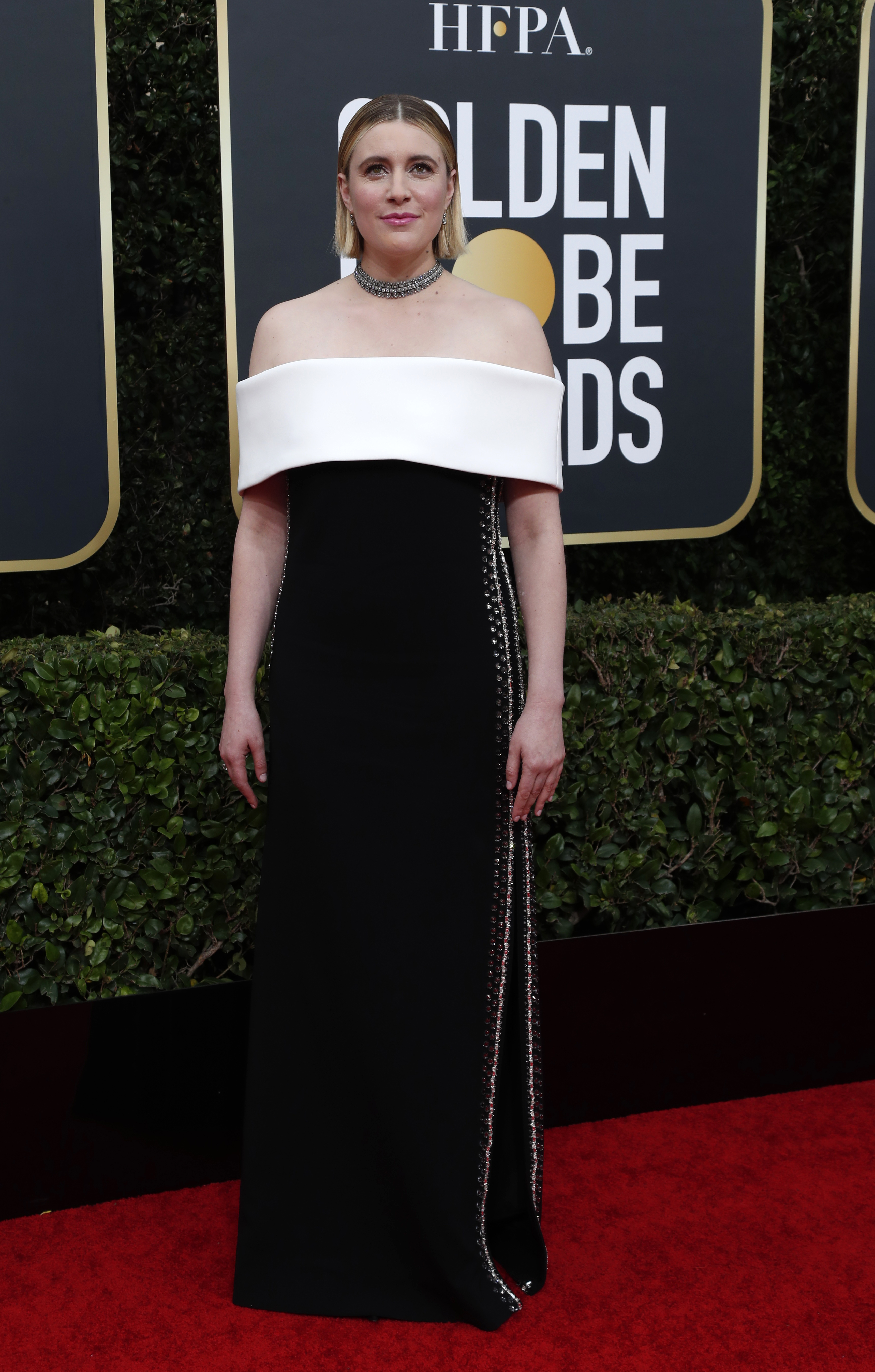 77th Golden Globe Awards - Arrivals - Beverly Hills, California, U.S., January 5, 2020 - Greta Gerwig. REUTERS/Mario Anzuoni