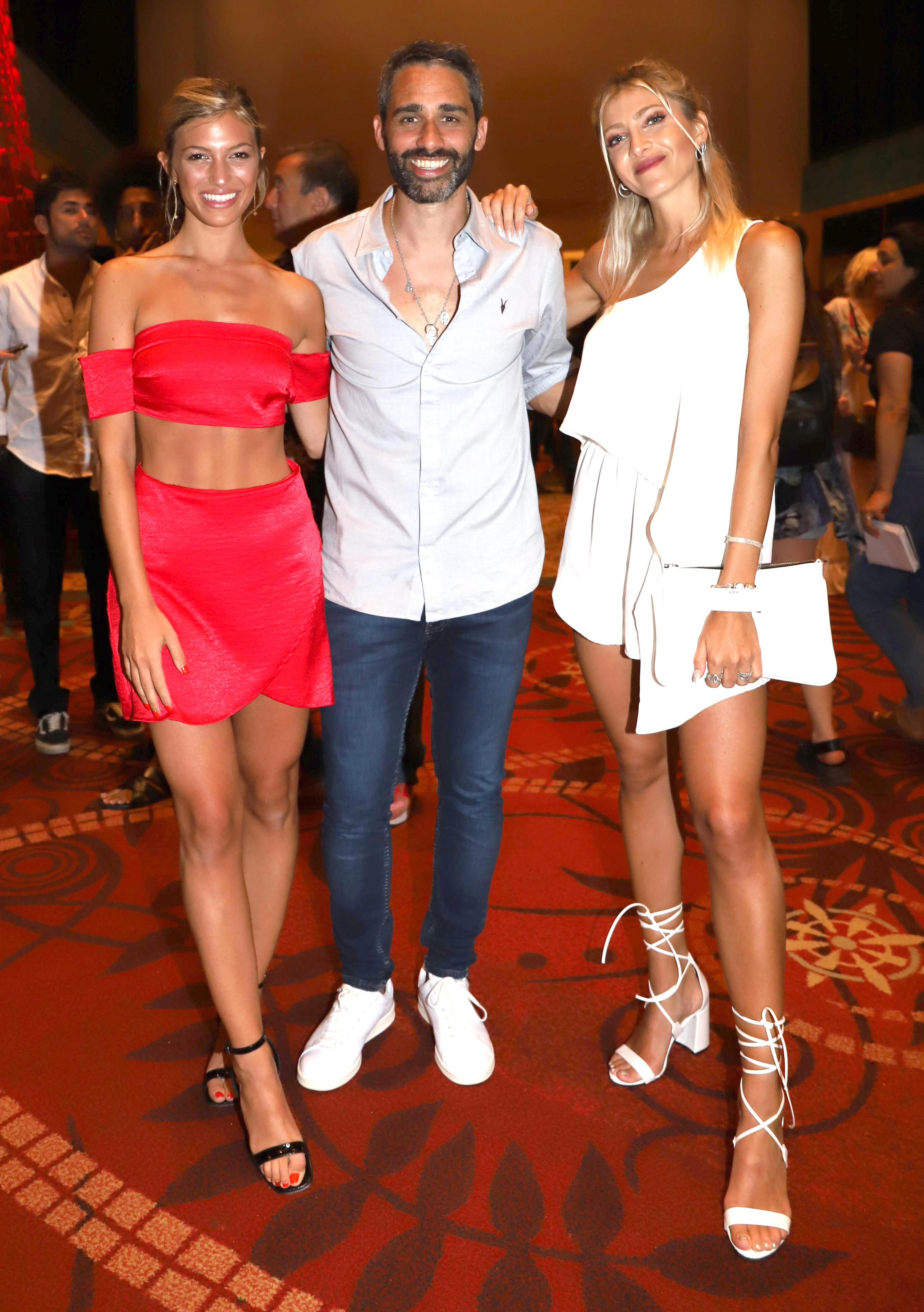 Stefanía Roitman, Pollo Álvarez y Cale Ruggeri