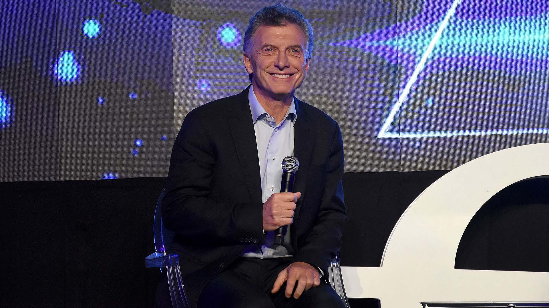 El presidente Mauricio Macri se refirió al emprendedurismo en la Argentina